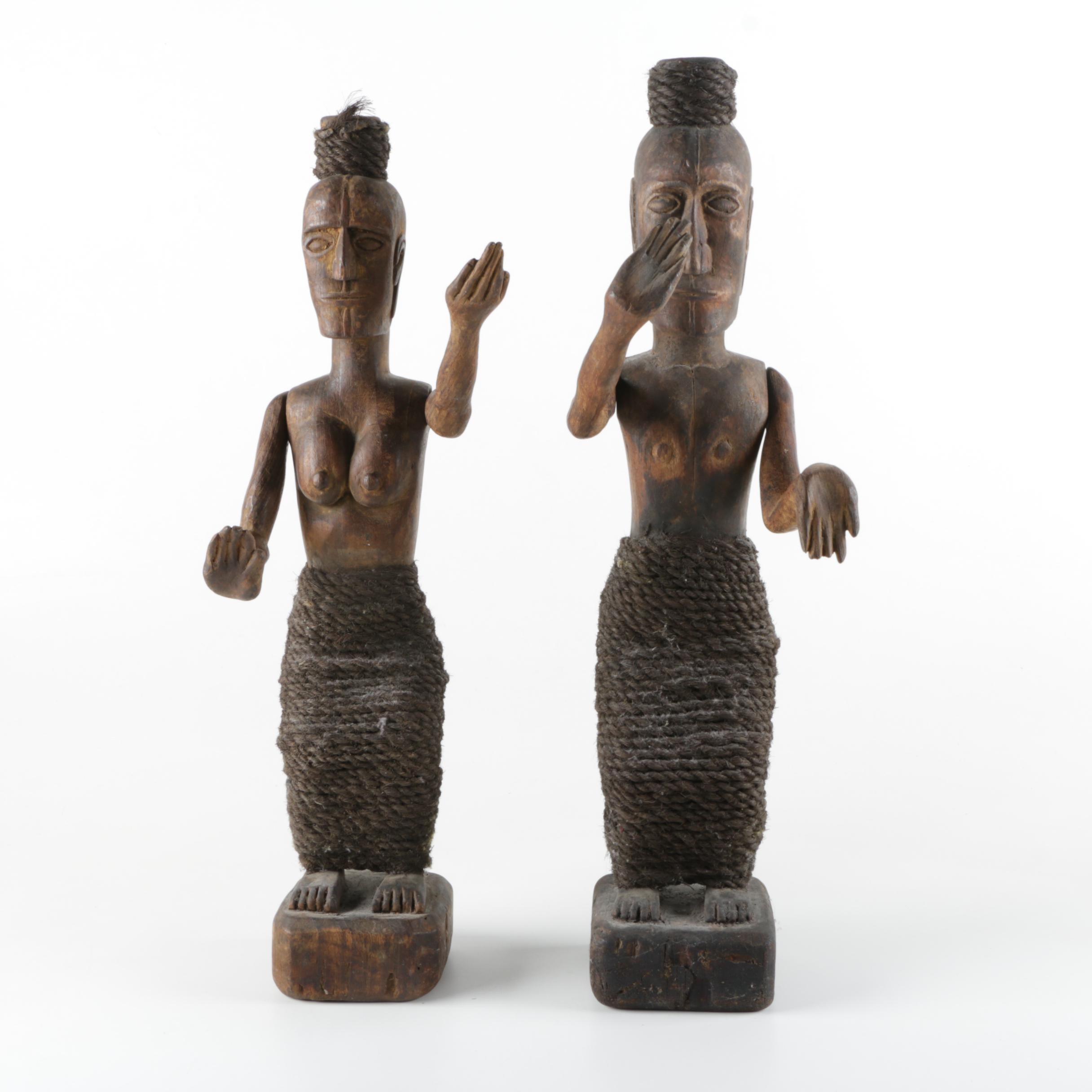 Carved Wood Figures