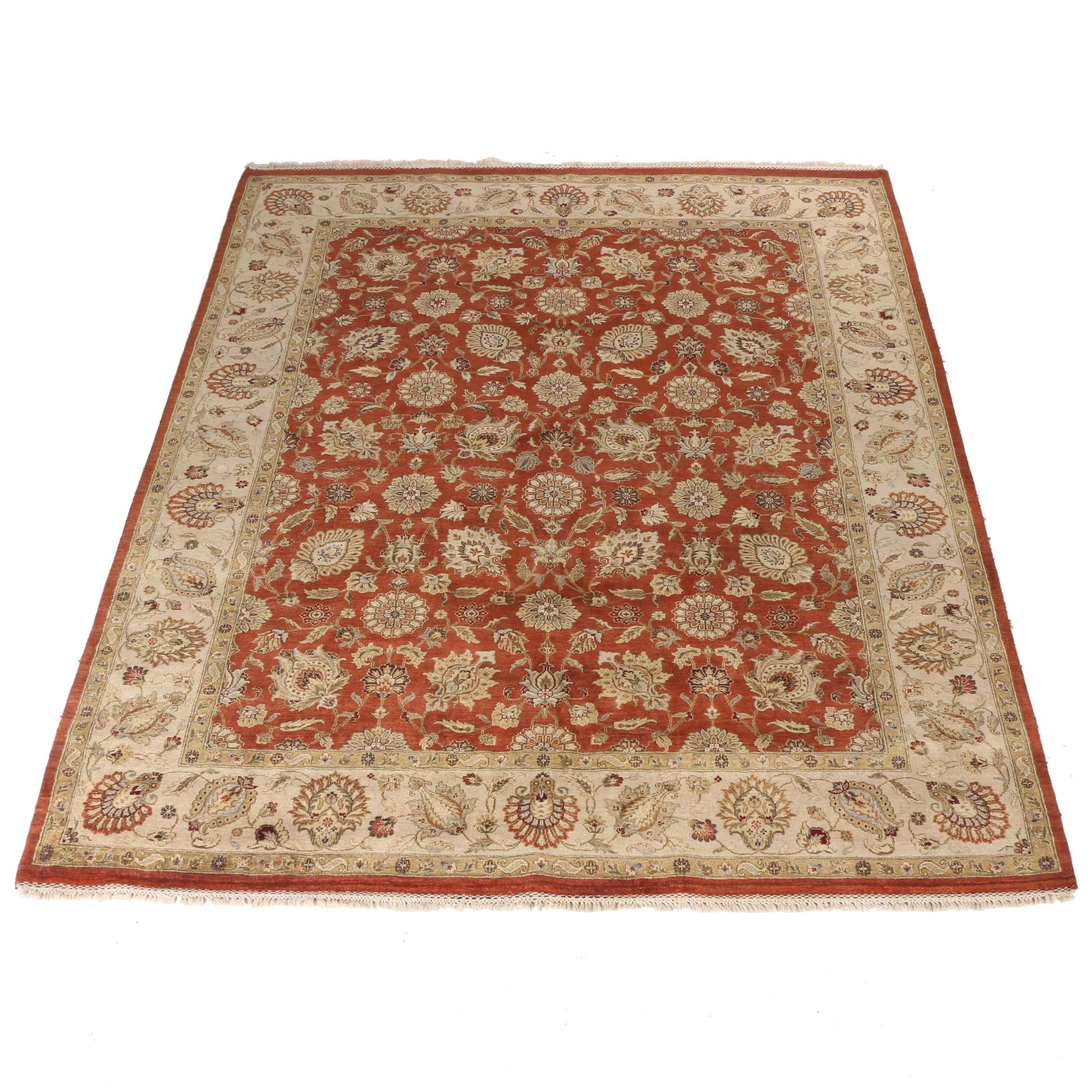 """Hand-Knotted Anabel's """"Lincoln"""" Area Rug"""