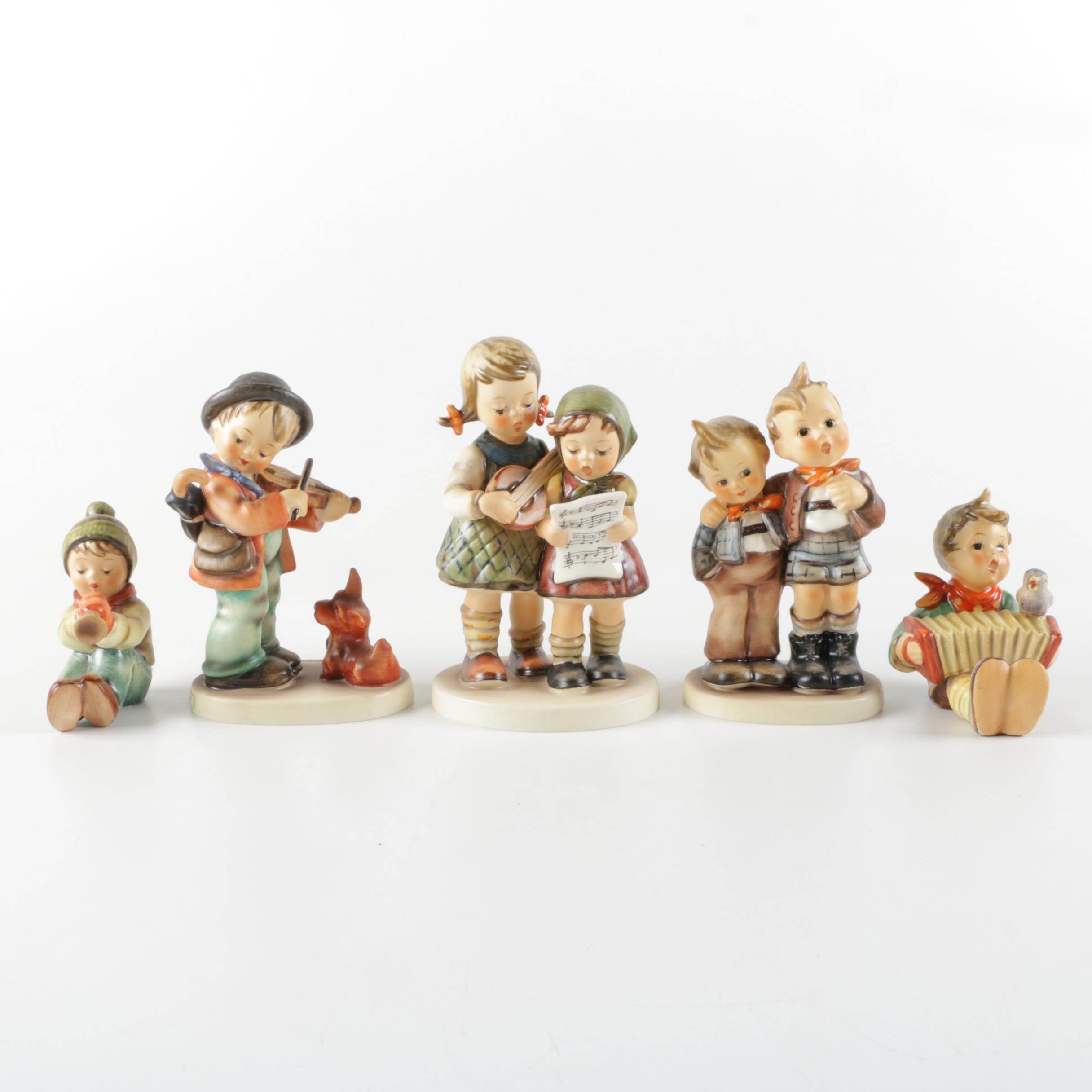 Goebel Hummel Musical Themed Figurines