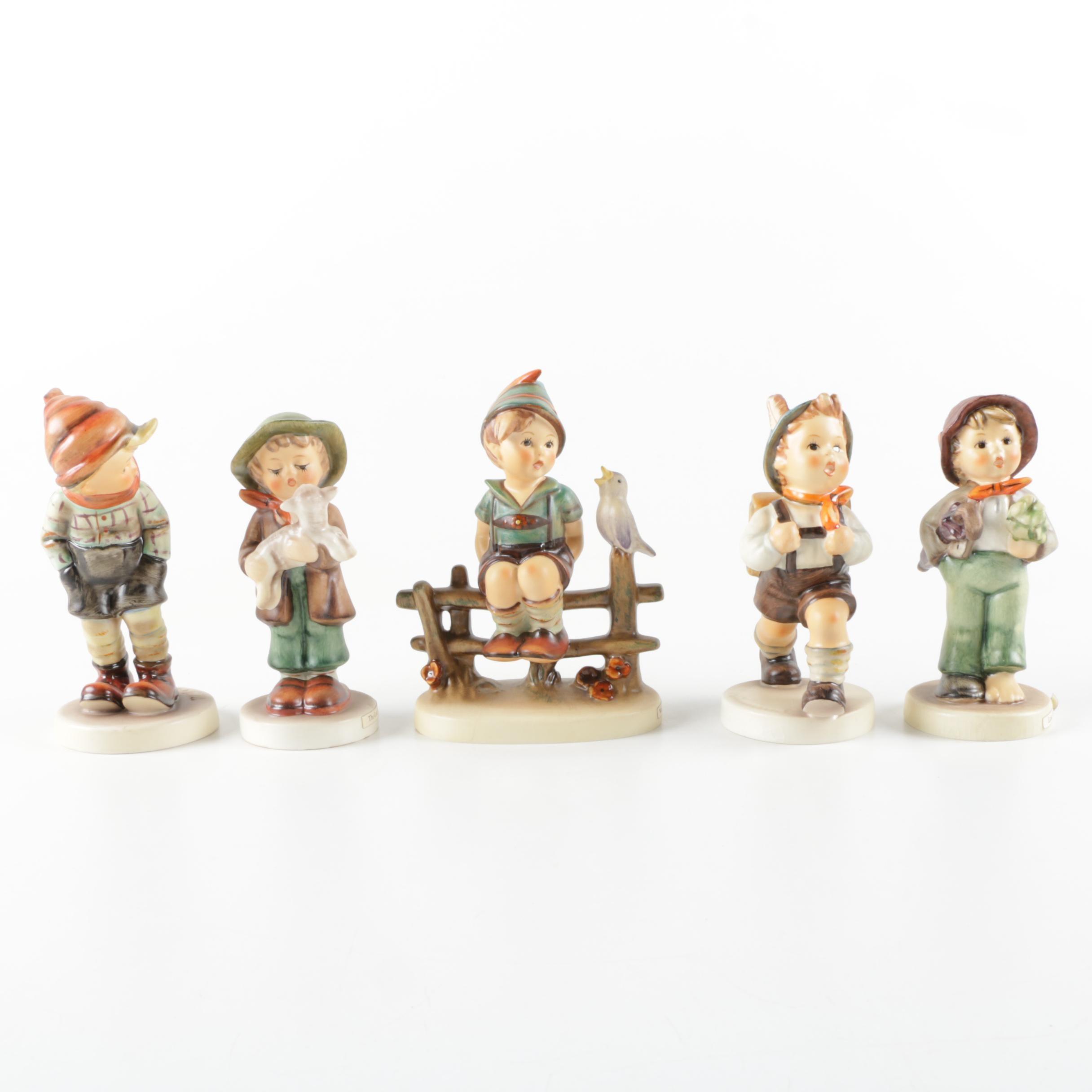 Assortment of Goebel Hummel Figurines