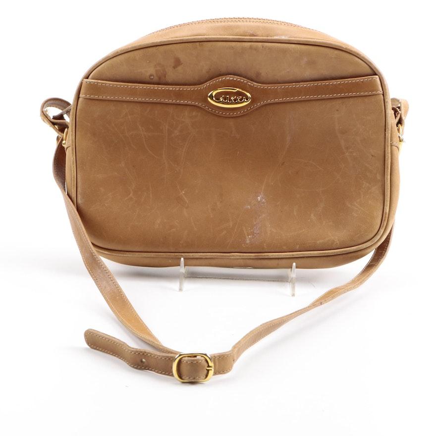 05672aaf355 Vintage Gucci Leather Crossbody Bag   EBTH