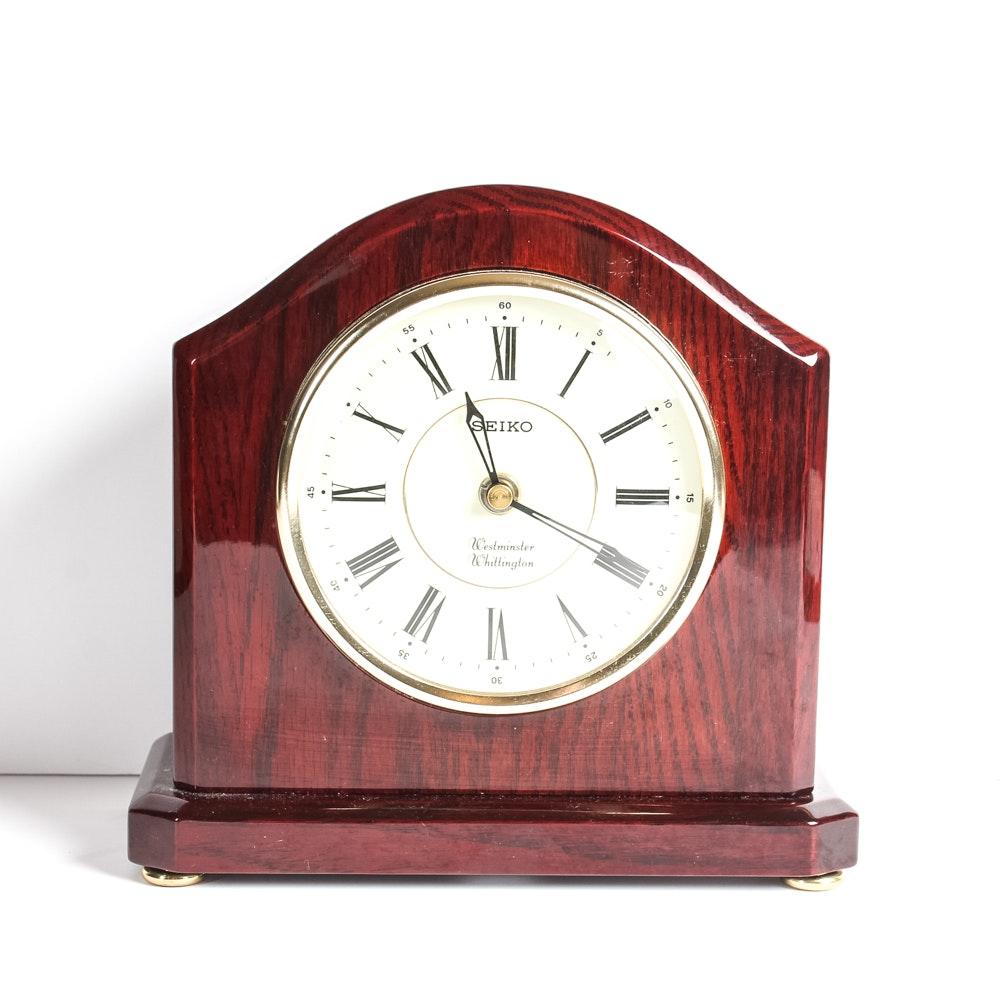 Seiko Westminster Whittington Mantle Clock