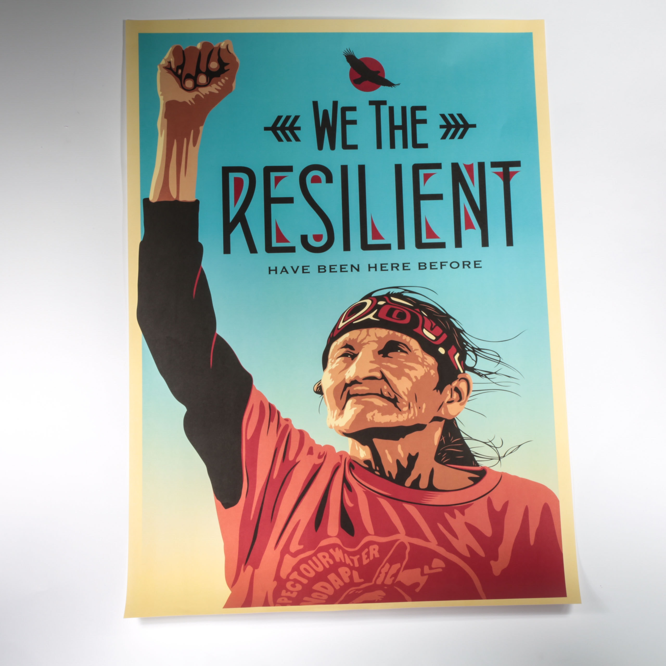 """Shepard Fairey Offset Lithograph """"We the Resilient"""""""