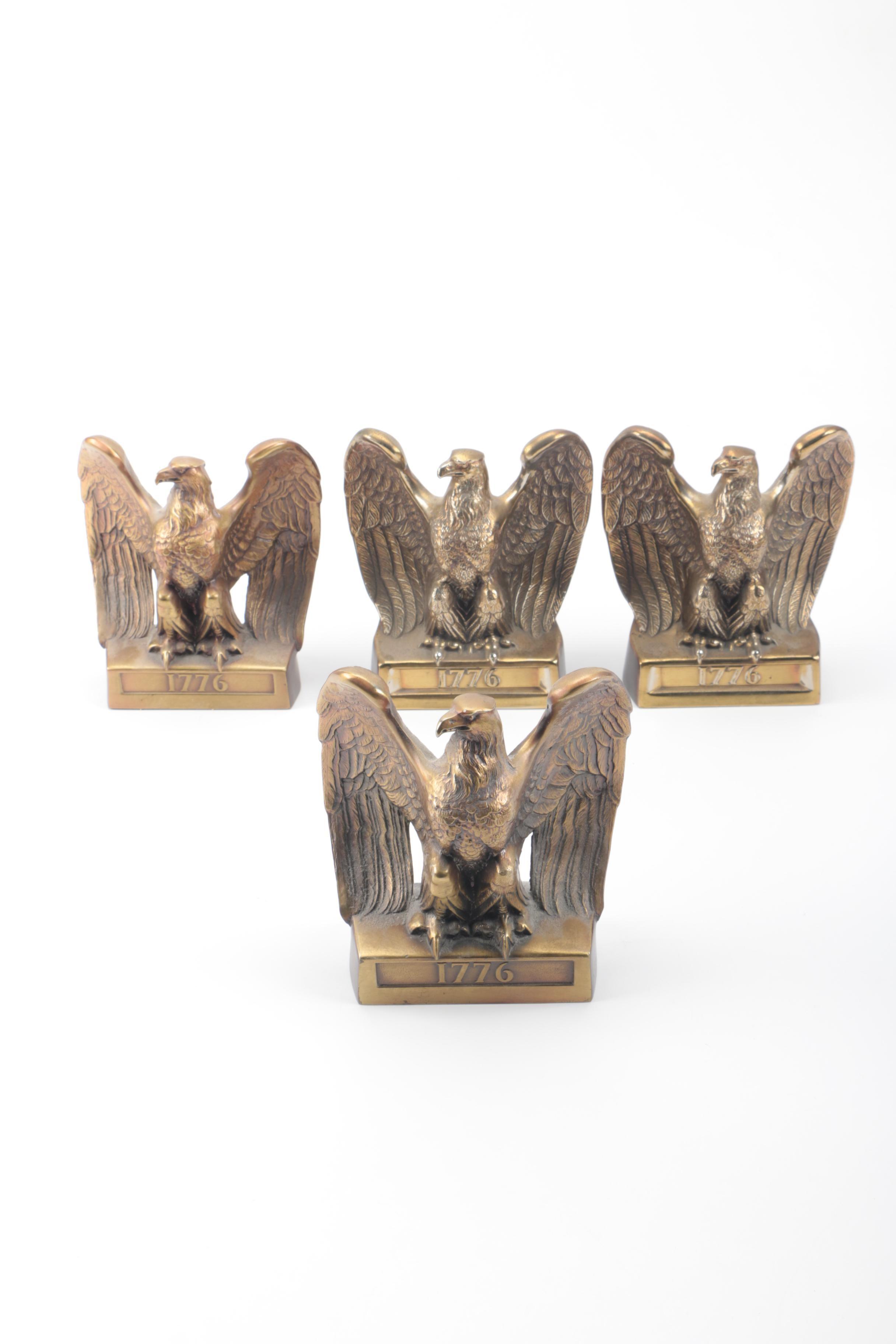 Philadelphia Manufacturing Company Eagle Bookends