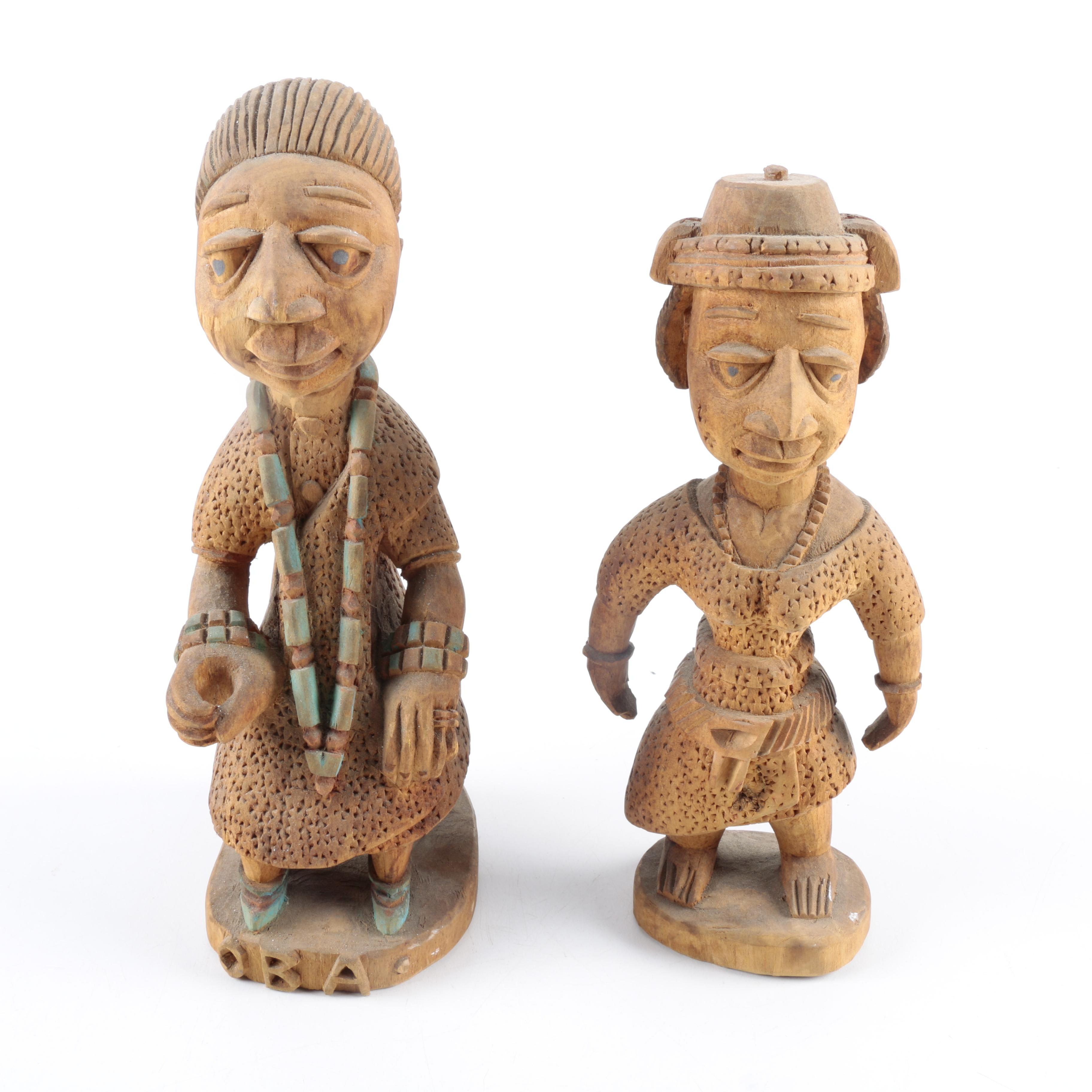 Hand Carved Wooden Figurines
