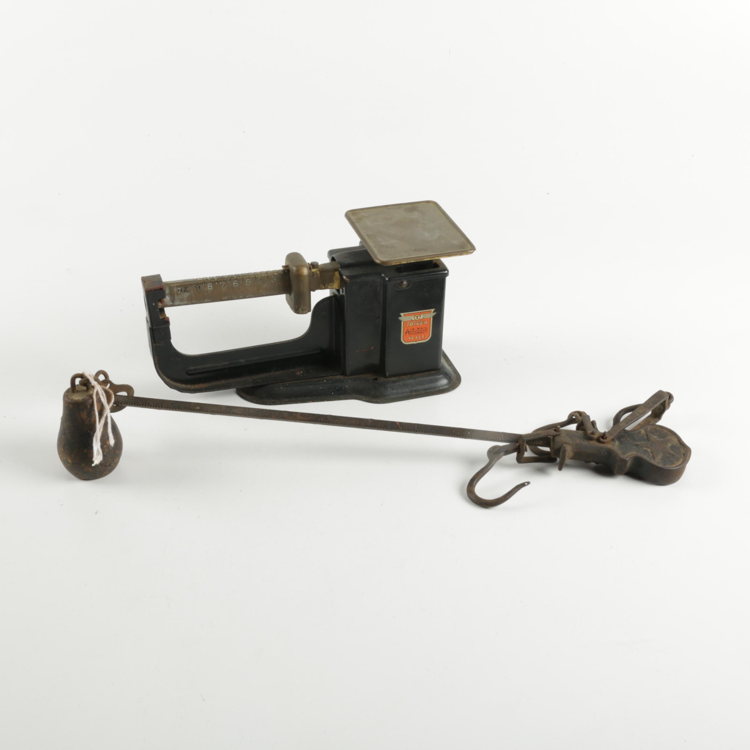 Pair of Vintage Scales