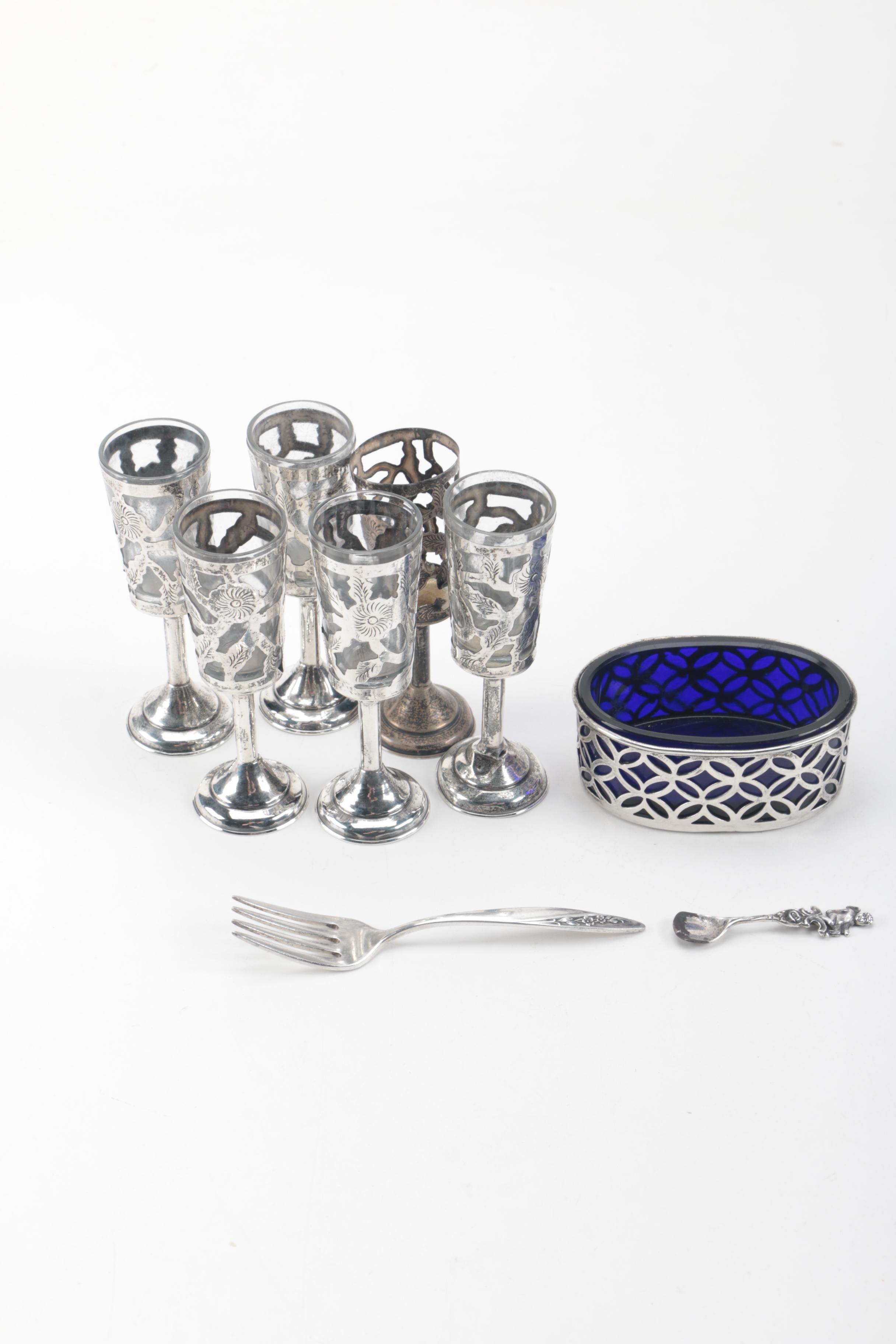 Assorted Sterling Silver Tableware