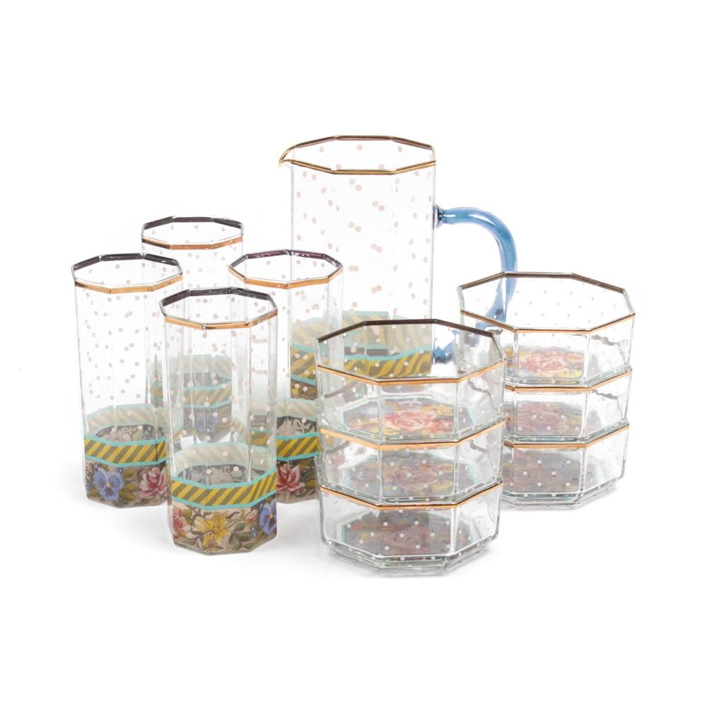 MacKenzie-Childs Glassware