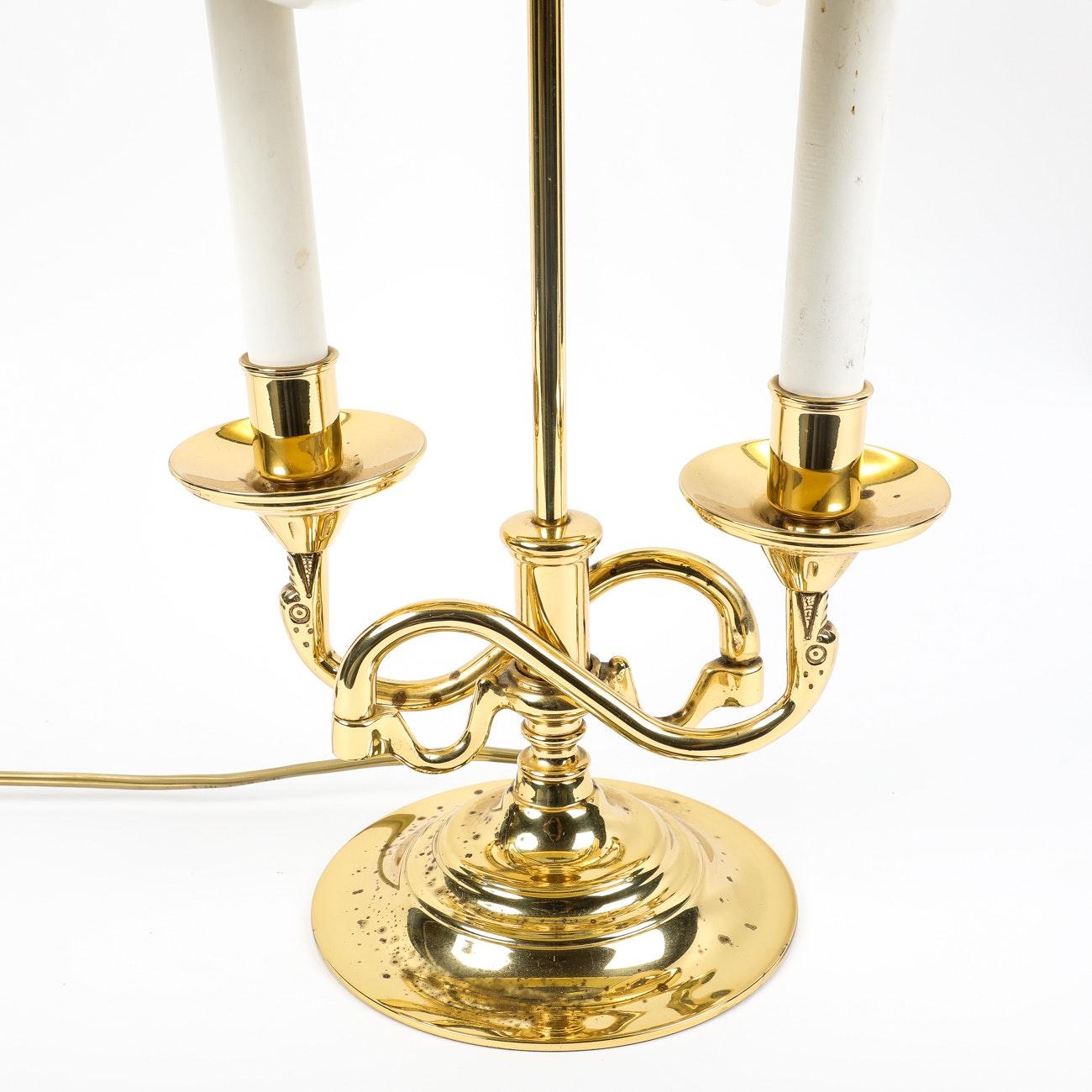 Baldwin Brass Candelabra Style Table Lamp Ebth