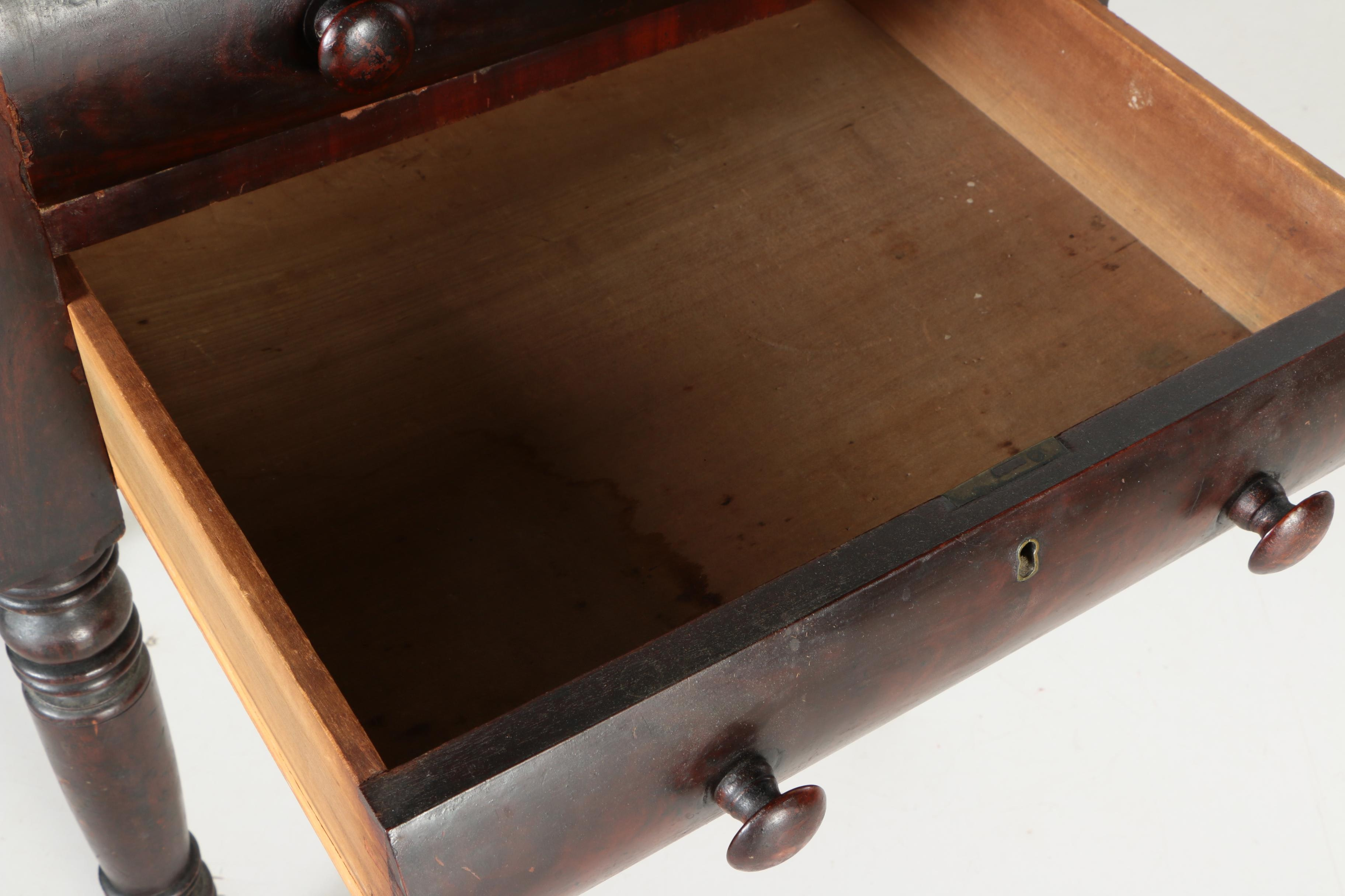 18 Century Veneered Side Table Ebth