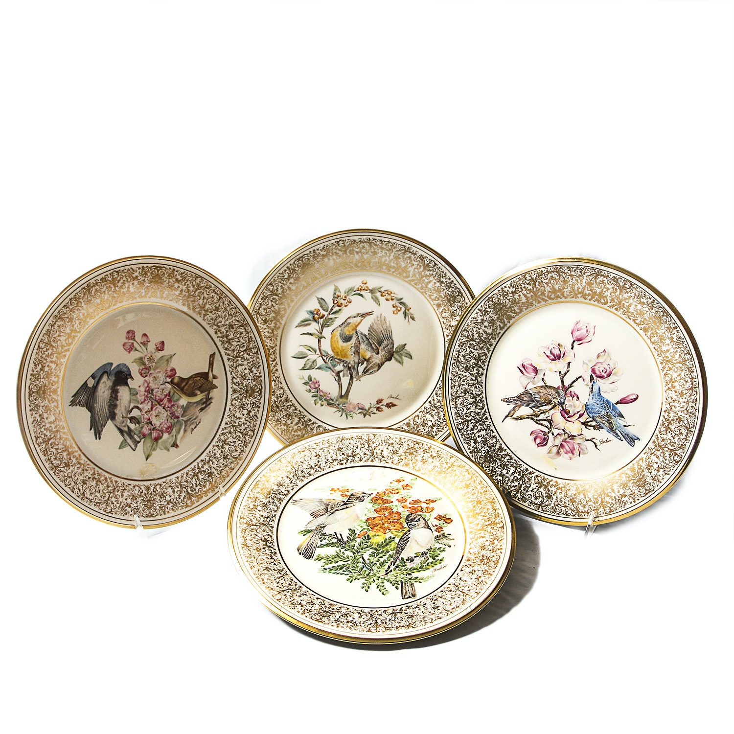 "Lenox ""Boehm Birds"" Collectible Plates"