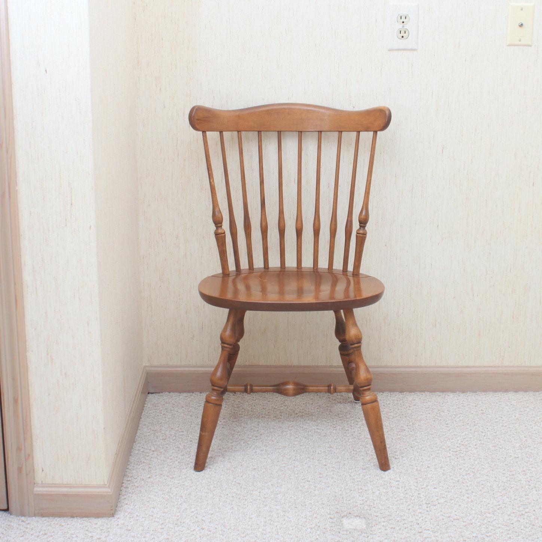 Ethan Allen Windsor Style Maple Chair