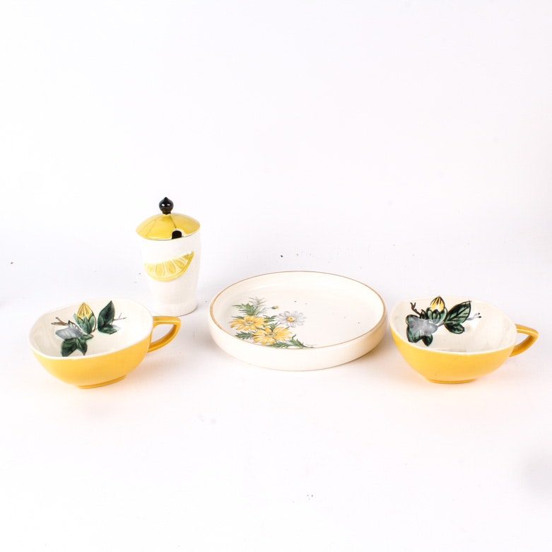 Variety of Vintage Tableware