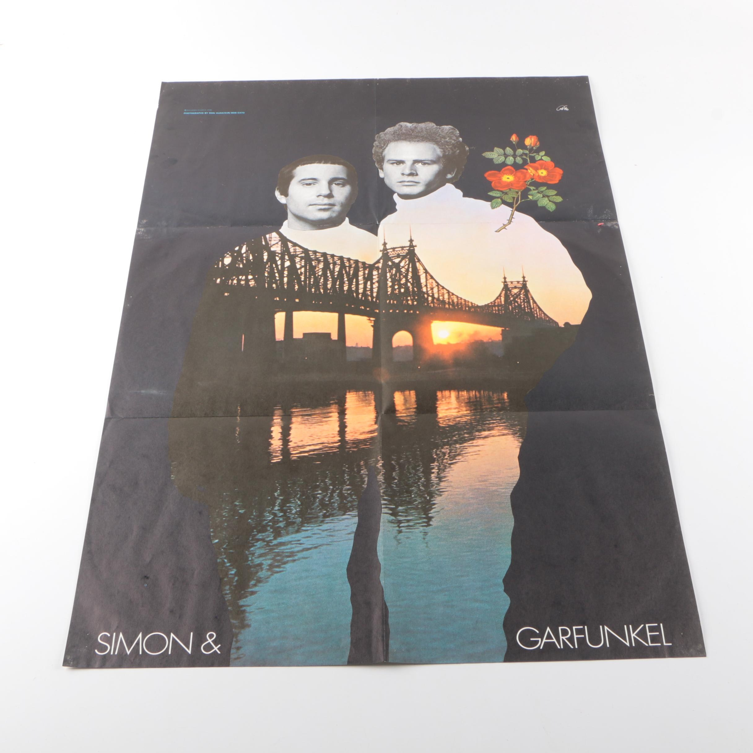 Simon and Garfunkel Lithograph Poster