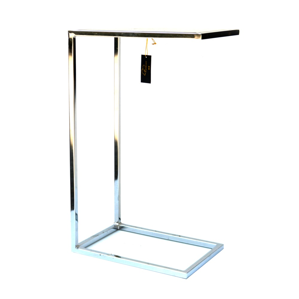 Well-known Contemporary Mirrored Top Accent Table by Tainoki : EBTH DR05