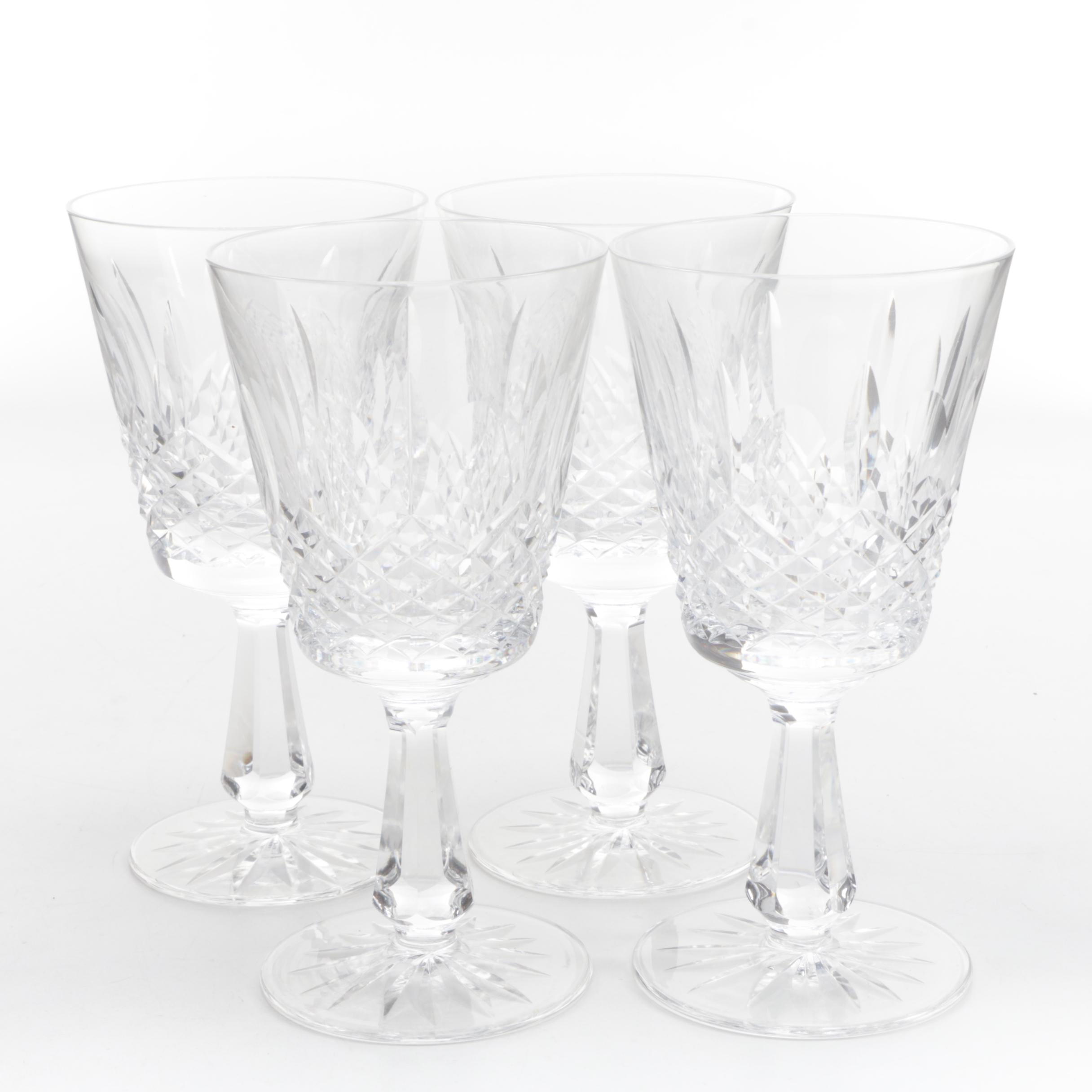 "Waterford Crystal ""Kenmare"" Water Goblets"