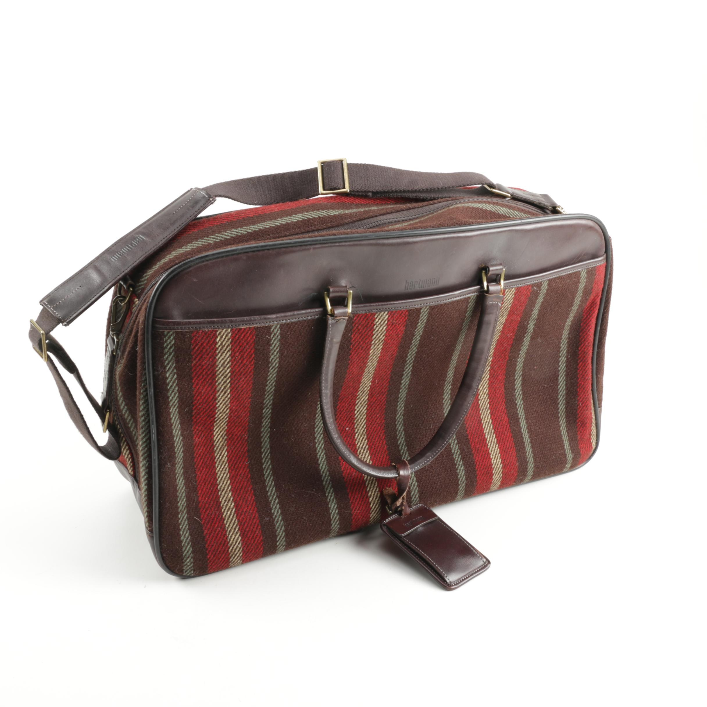 Hartmann Fabric and Leather Travel Bag