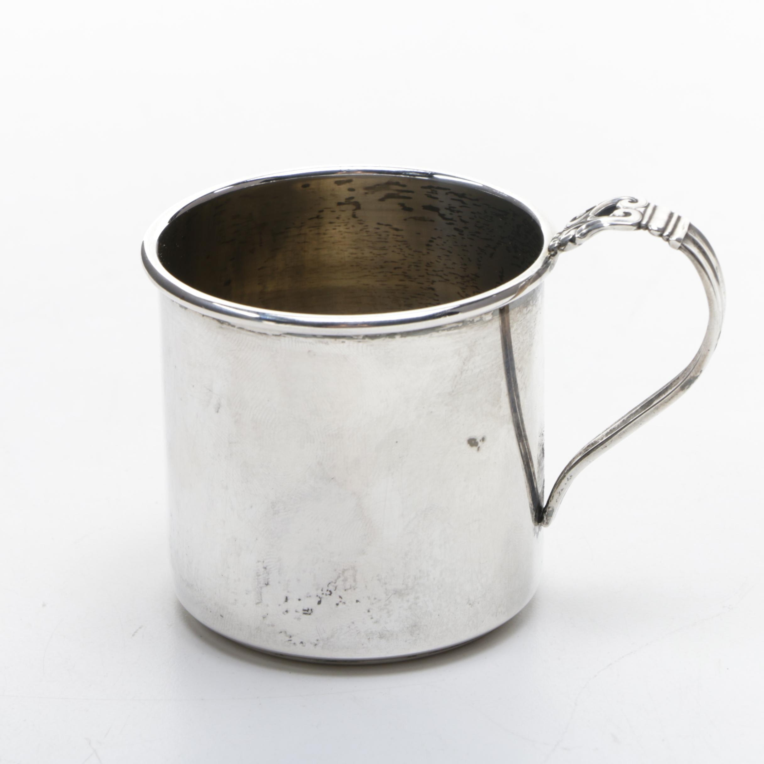 "International Silver Co. ""Royal Danish"" Sterling Silver Child's Cup"
