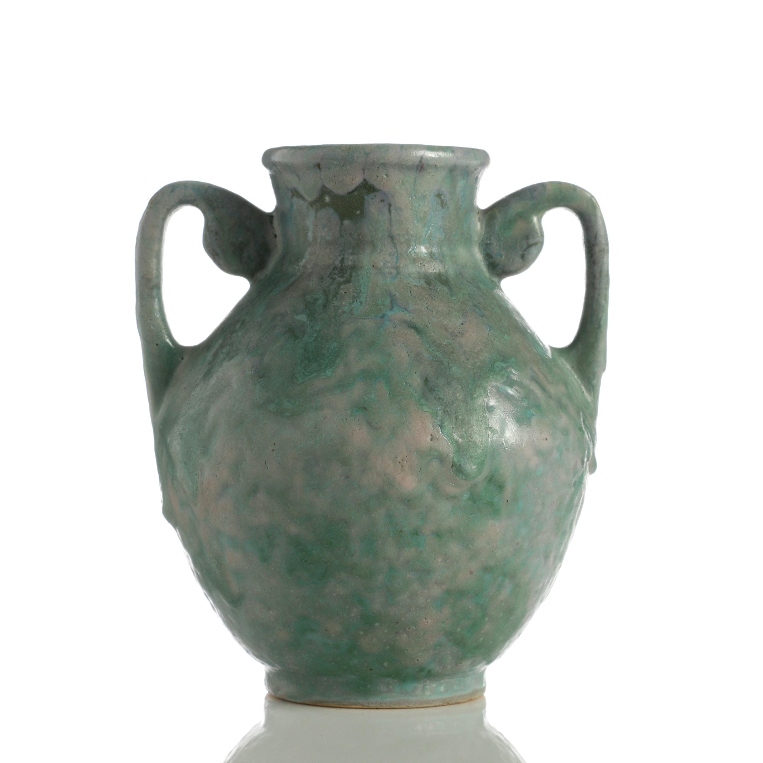 "Roseville Pottery ""Carnelian II"" Vase"