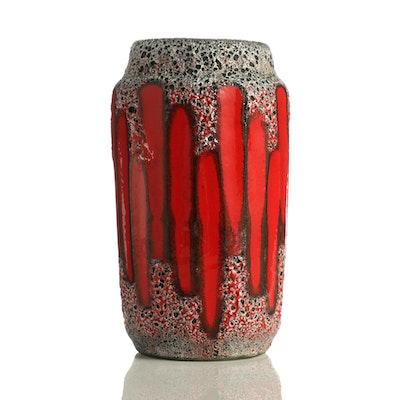 Scheurich Ceramic Fat Lava Vase