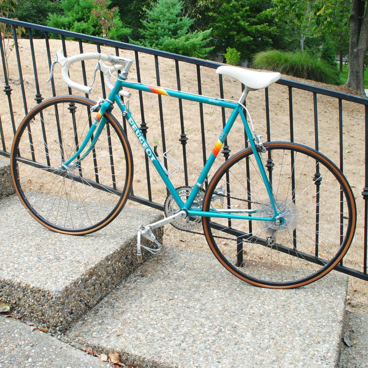 """vintage peugeot """"versailles"""" 12-speed road bicycle : ebth"""