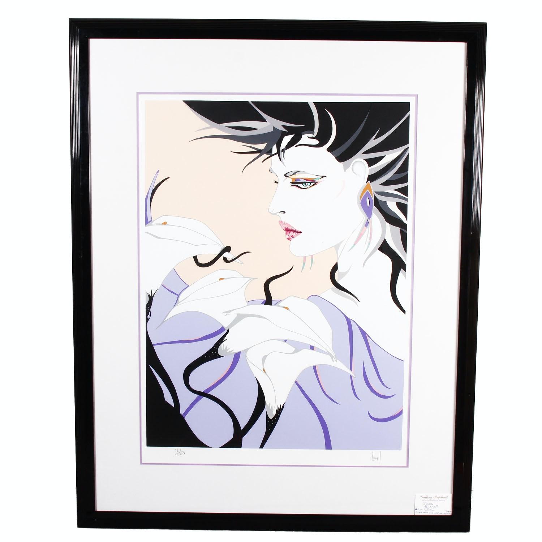 "Framed Steve Leal ""Julia"" Serigraph"