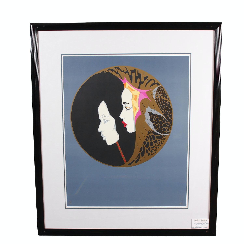 """Framed Print After Steve Leal """"Masquerade"""""""