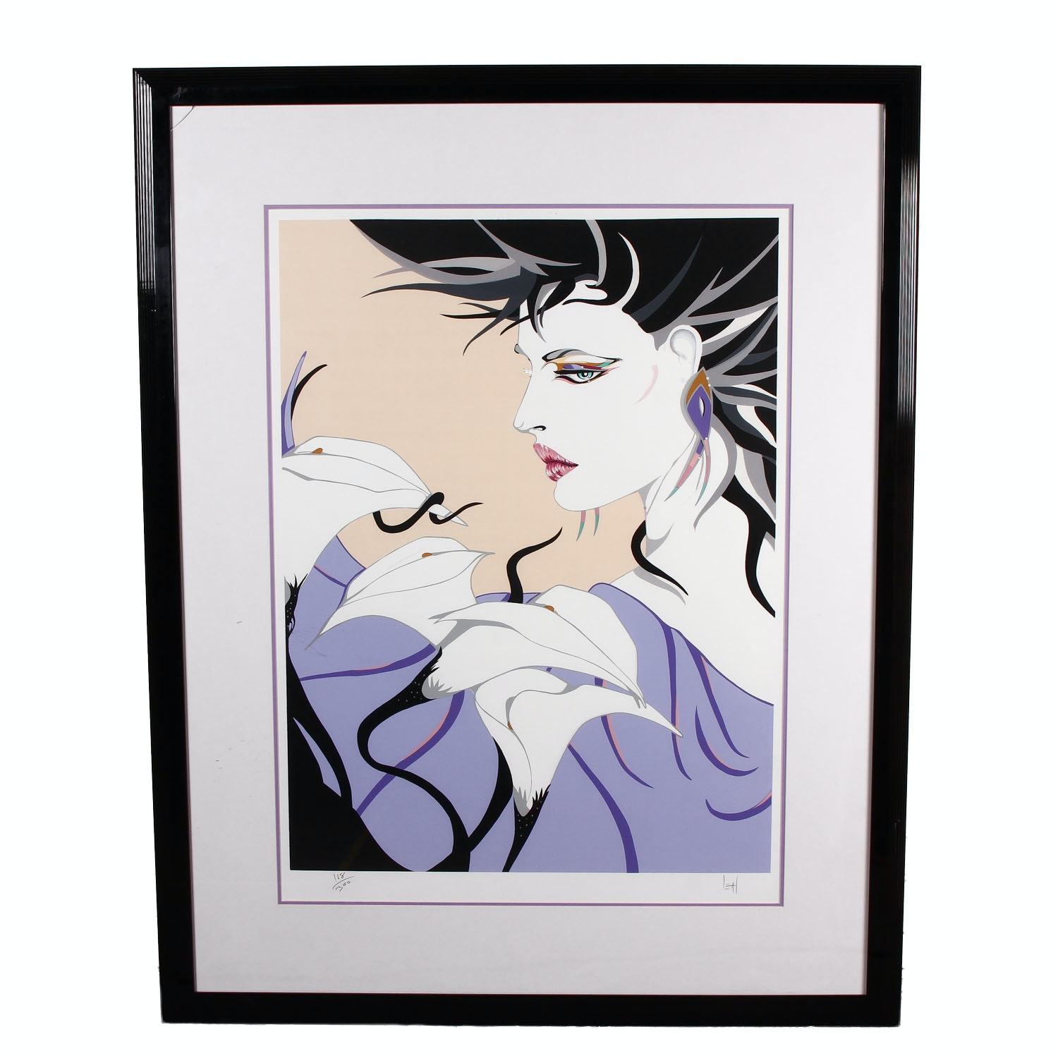 "Steve Leal Limited Edition Serigraph ""Julia"""