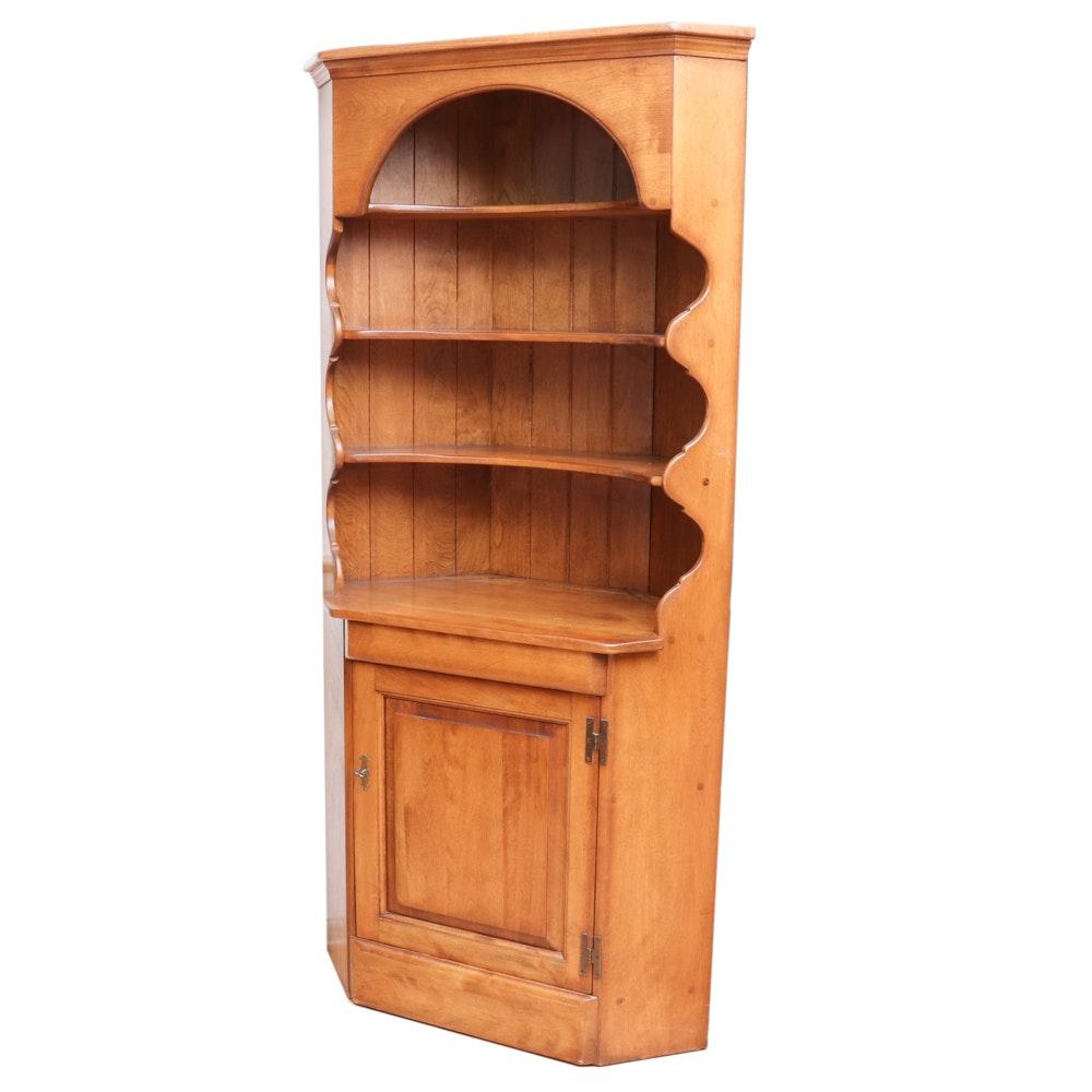 Wooden Corner China Cabinet