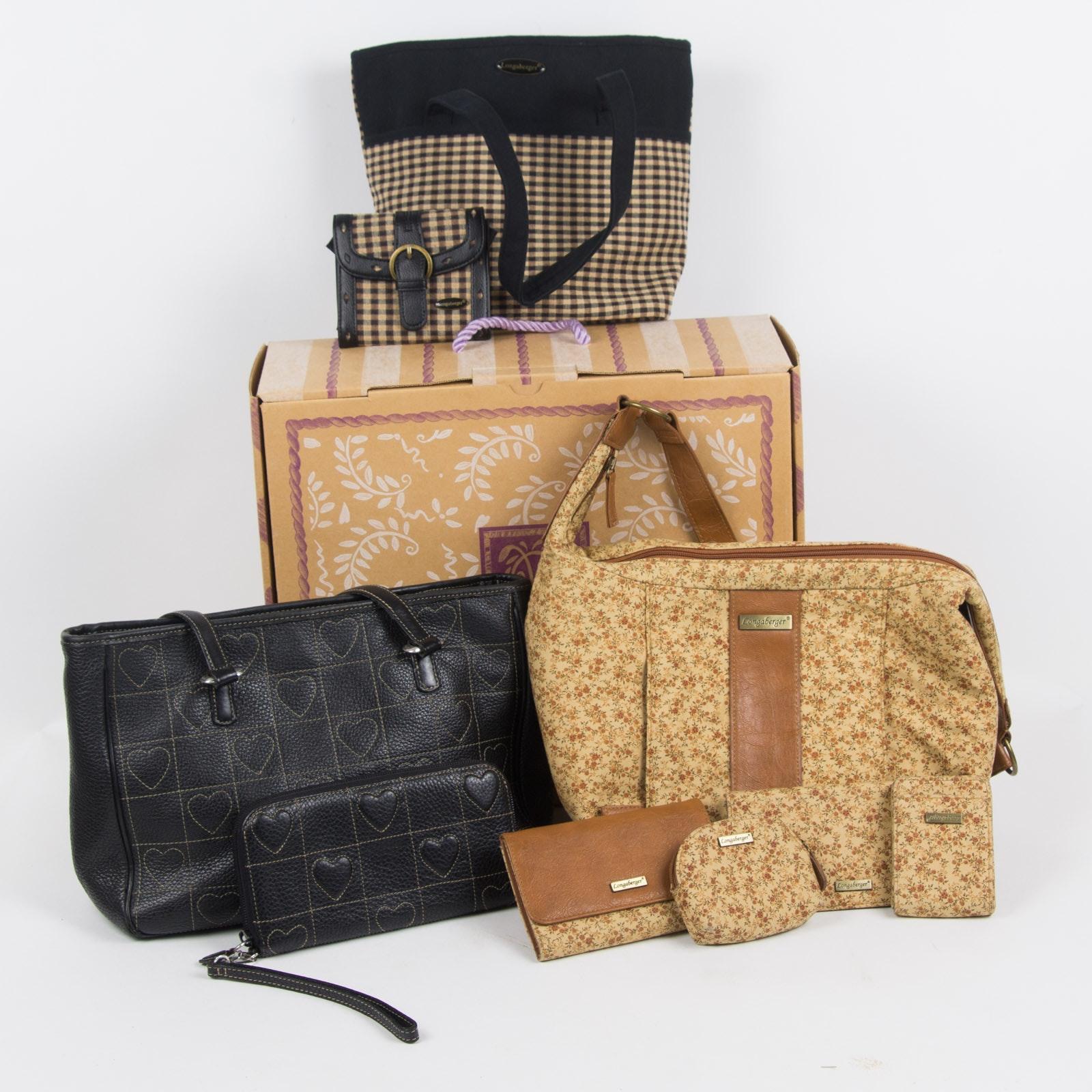 Brighton and Longaberger Handbags