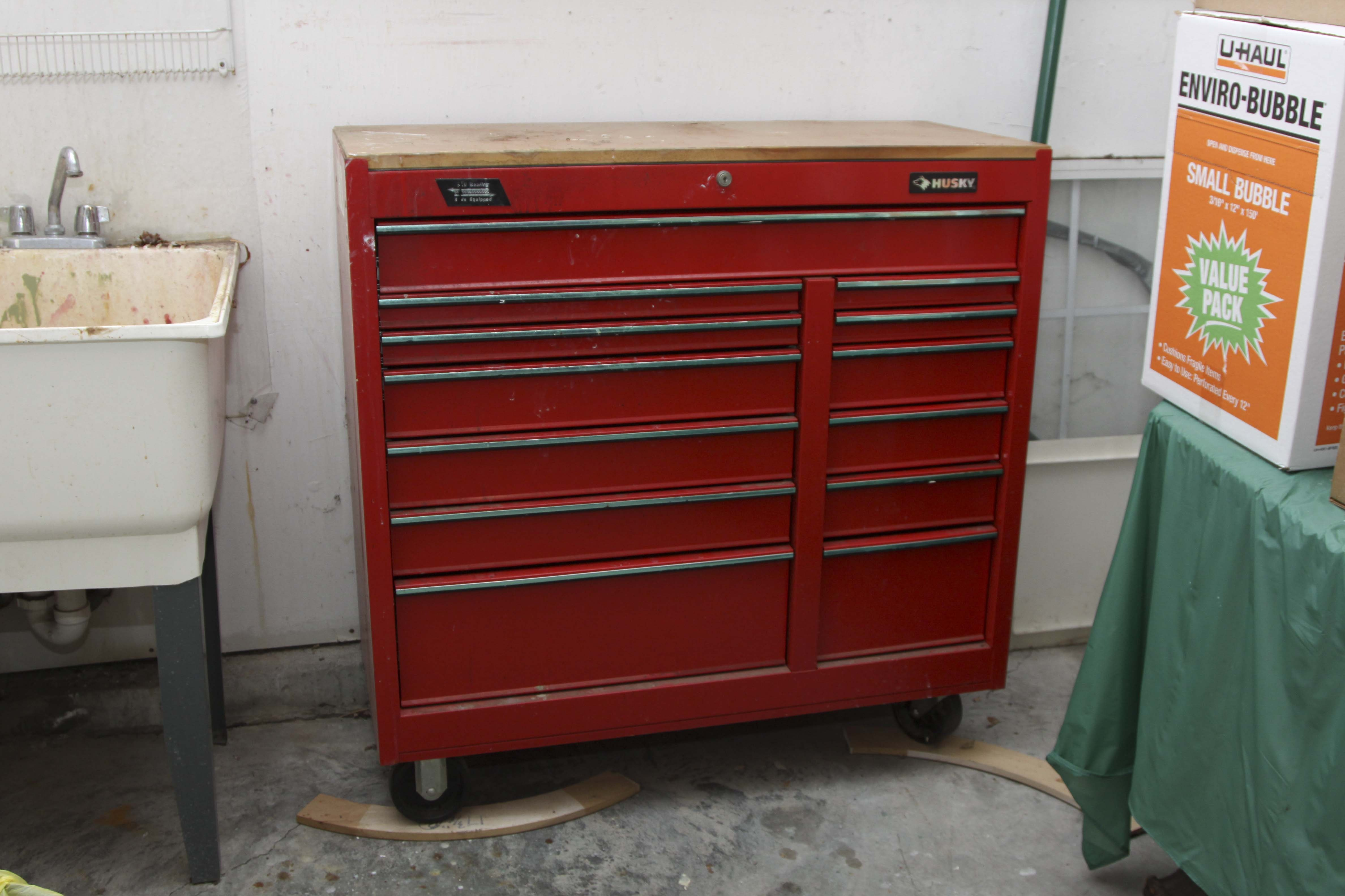 Husky Tool Chest on Wheels