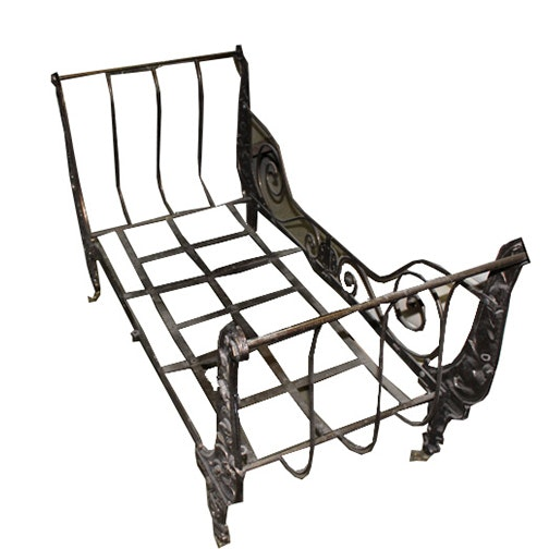 Neoclassical Style Settee Bench