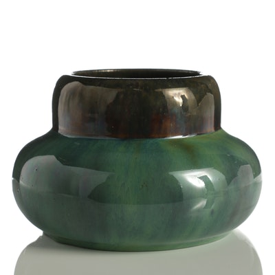 Fulper Ceramic Shouldered Vase