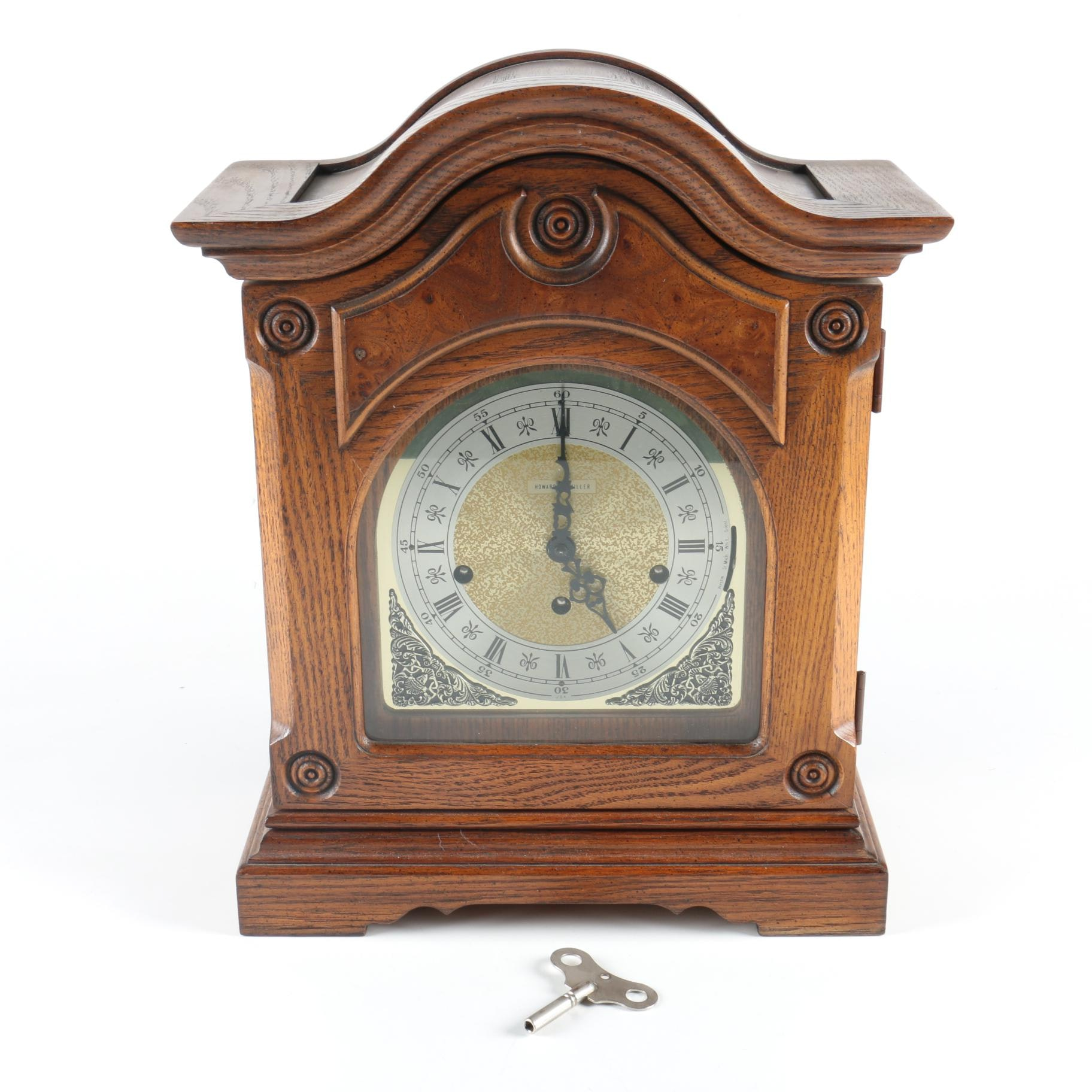 Howard Miller Wood Mantel Clock