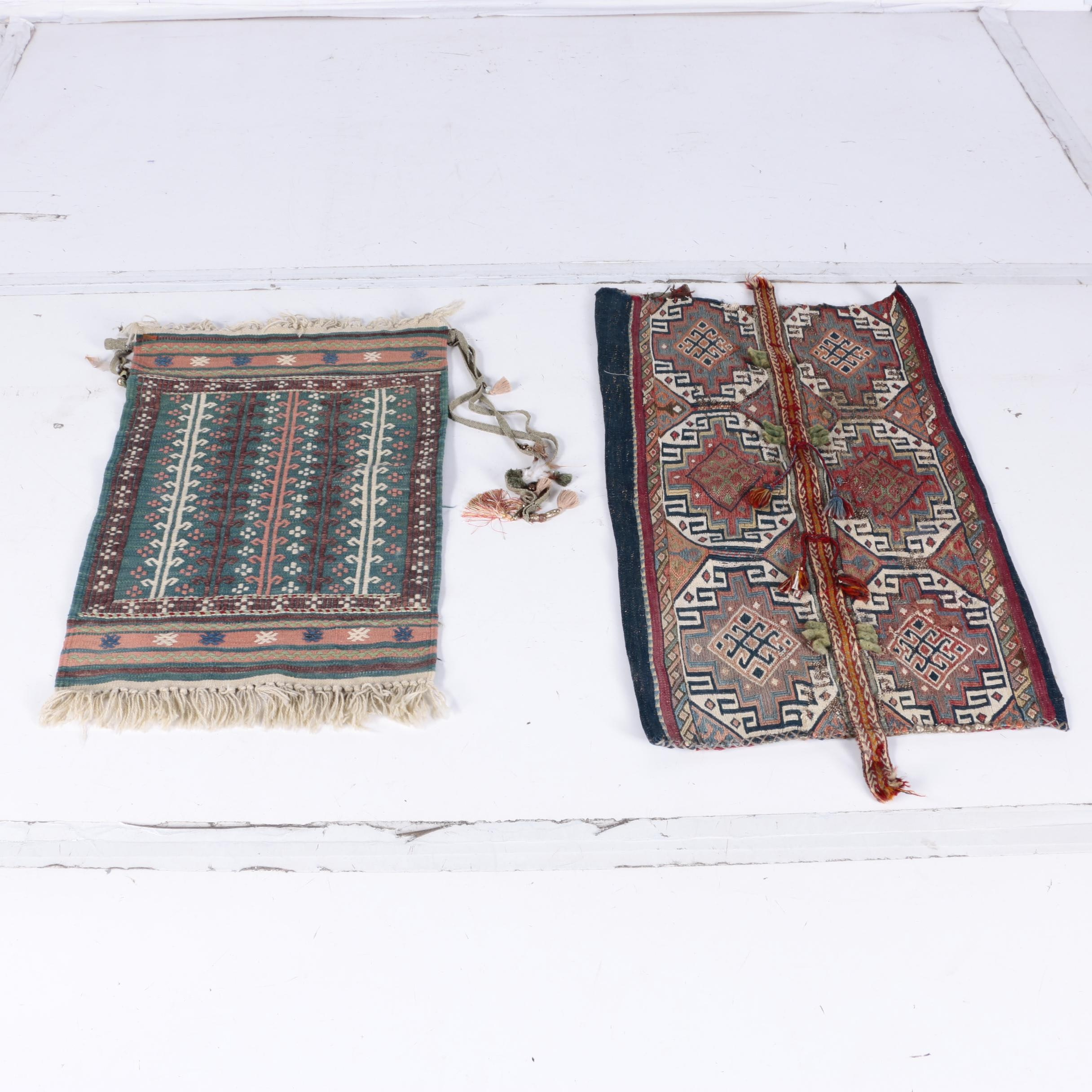 Handwoven and Embroidered Turkish Konya Tribal Textiles