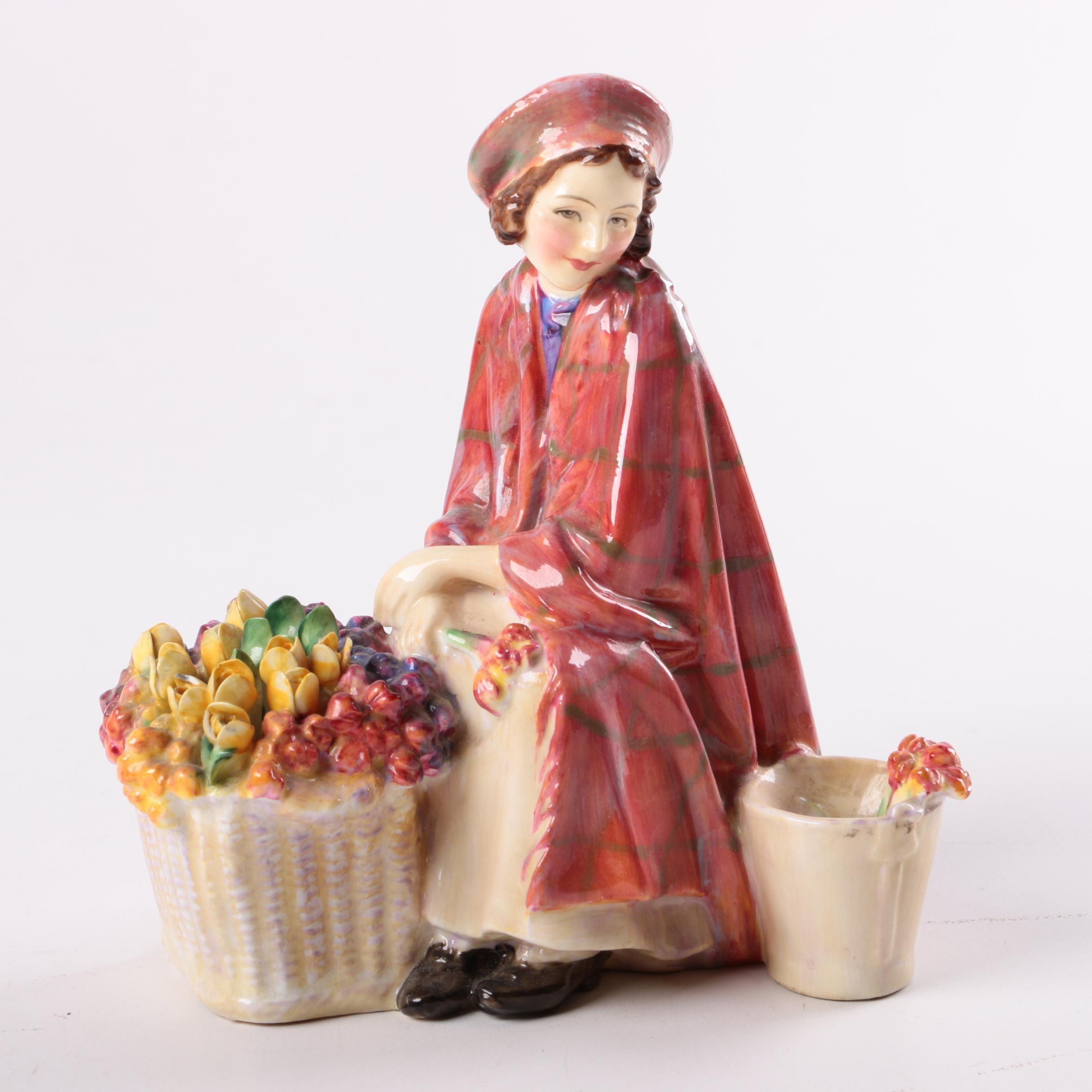 """Royal Doulton """"Bonnie Lassie"""" Figurine"""