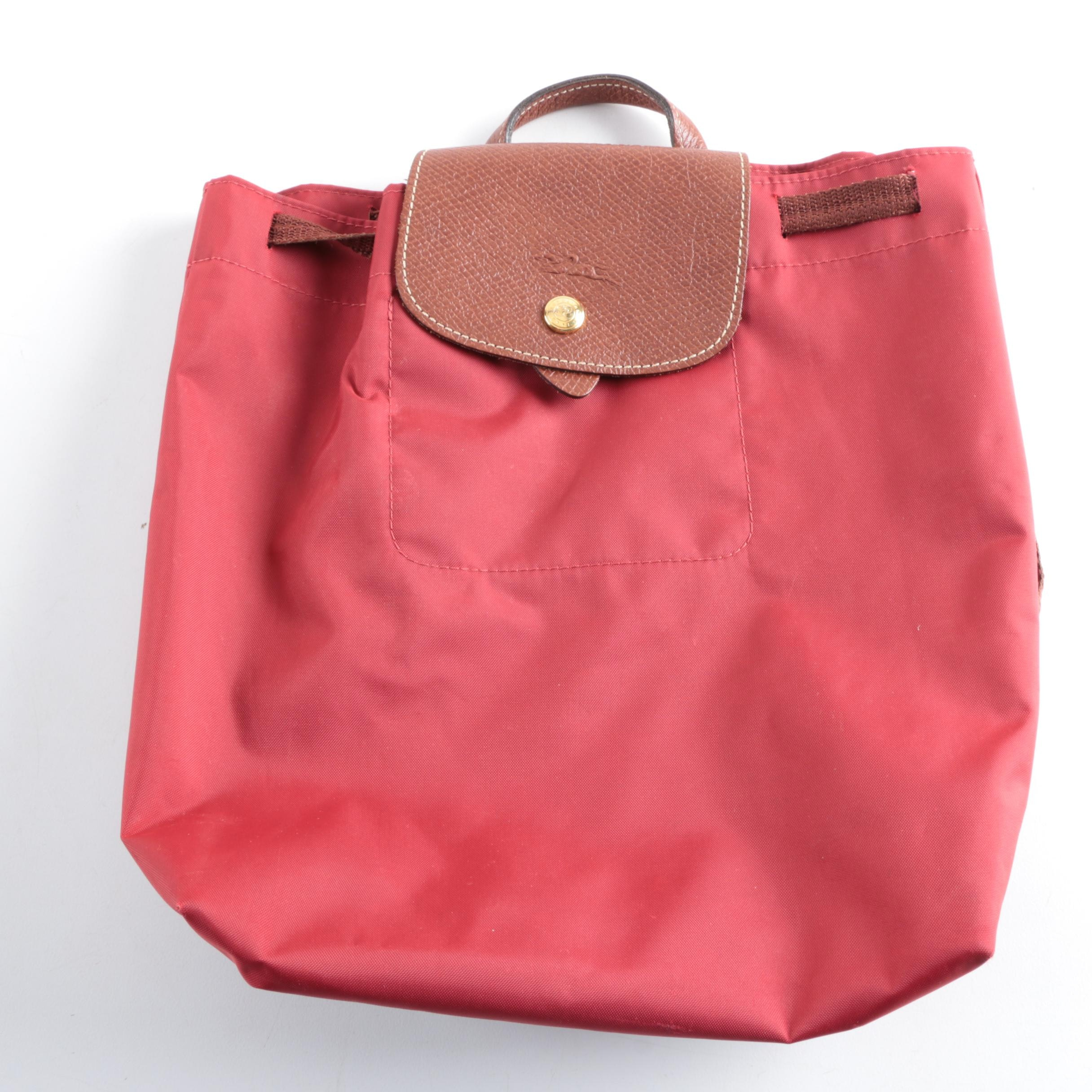 Longchamp Le Pliage Drawstring Backpack