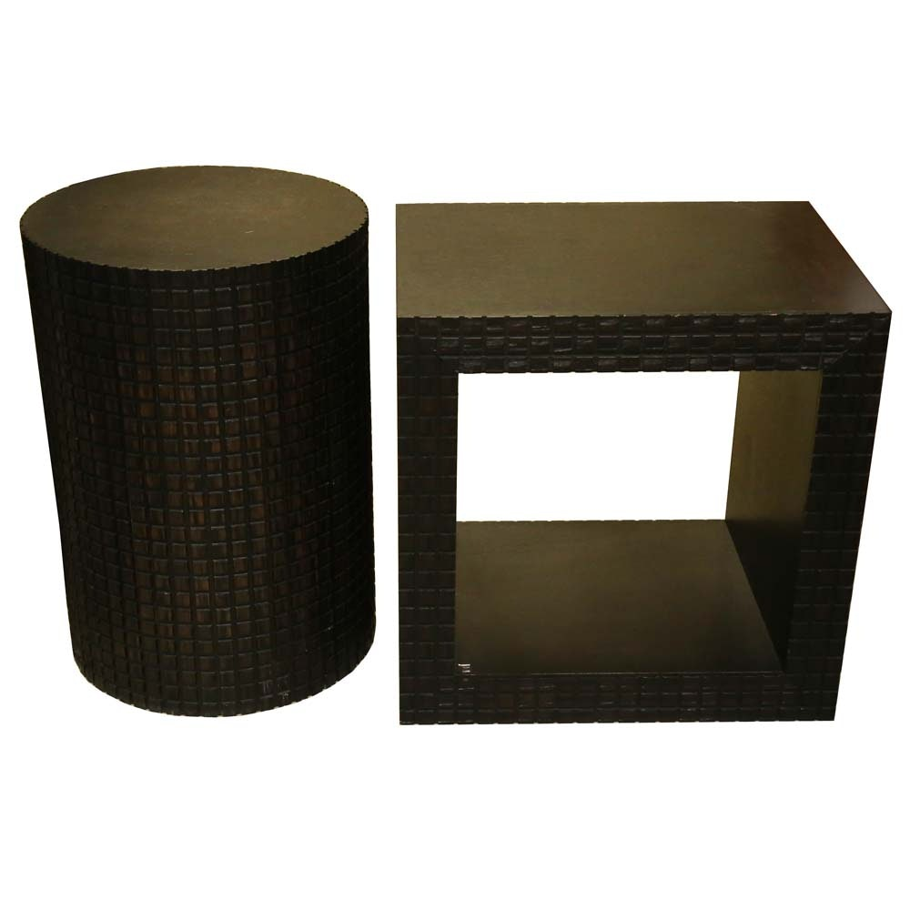Pair Of Modernist Accent Tables