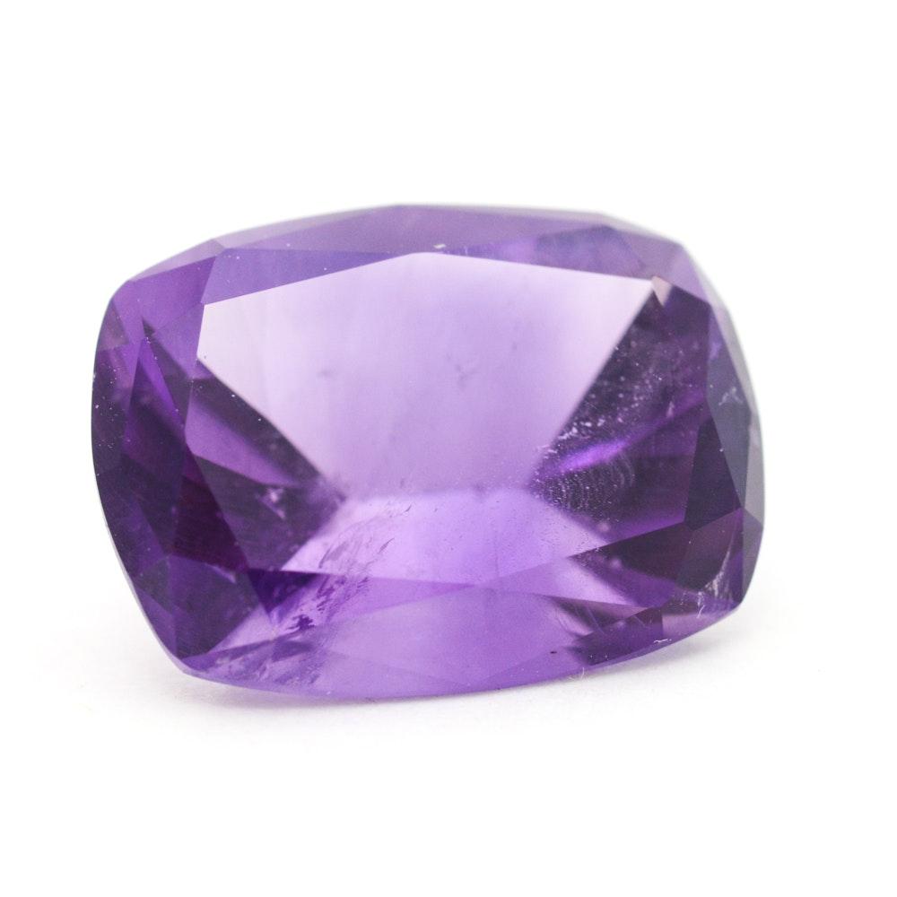 Loose 9.63 Carat Amethyst Gemstone