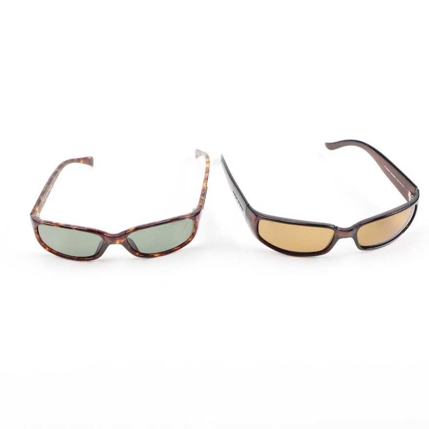 Pair Of Sport Polo Brown Frame Lauren Ralph Sunglasses By Two 5j3AqRLc4