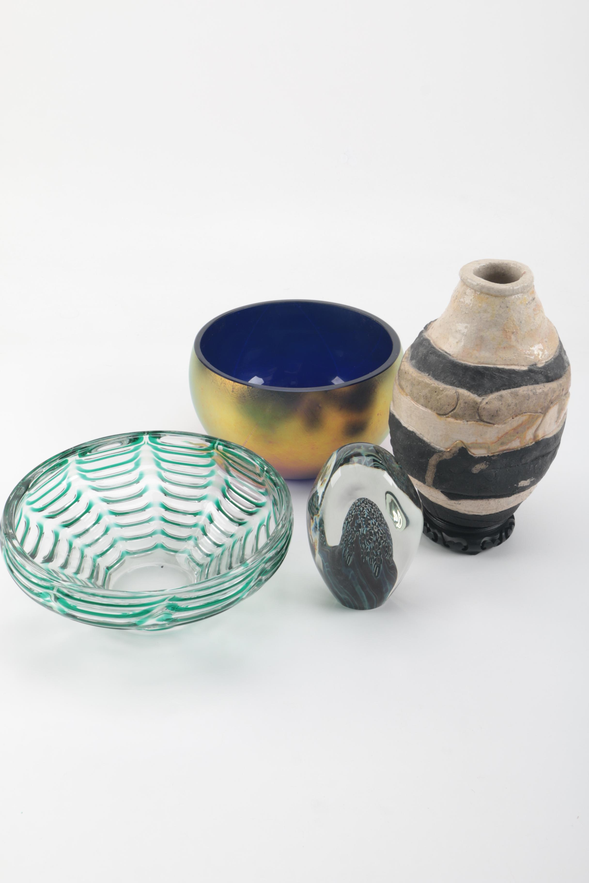 Art Glass and Pottery Collection