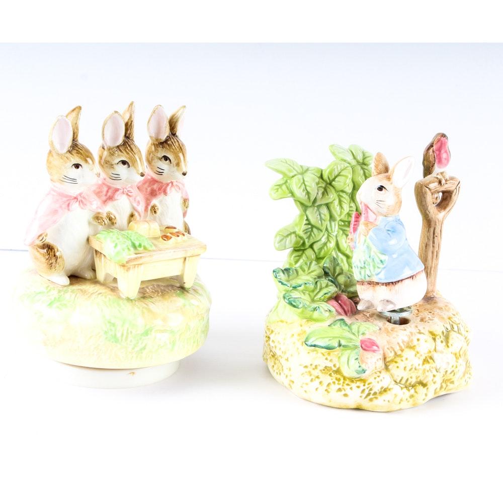 Beatrix Potter Music Boxes