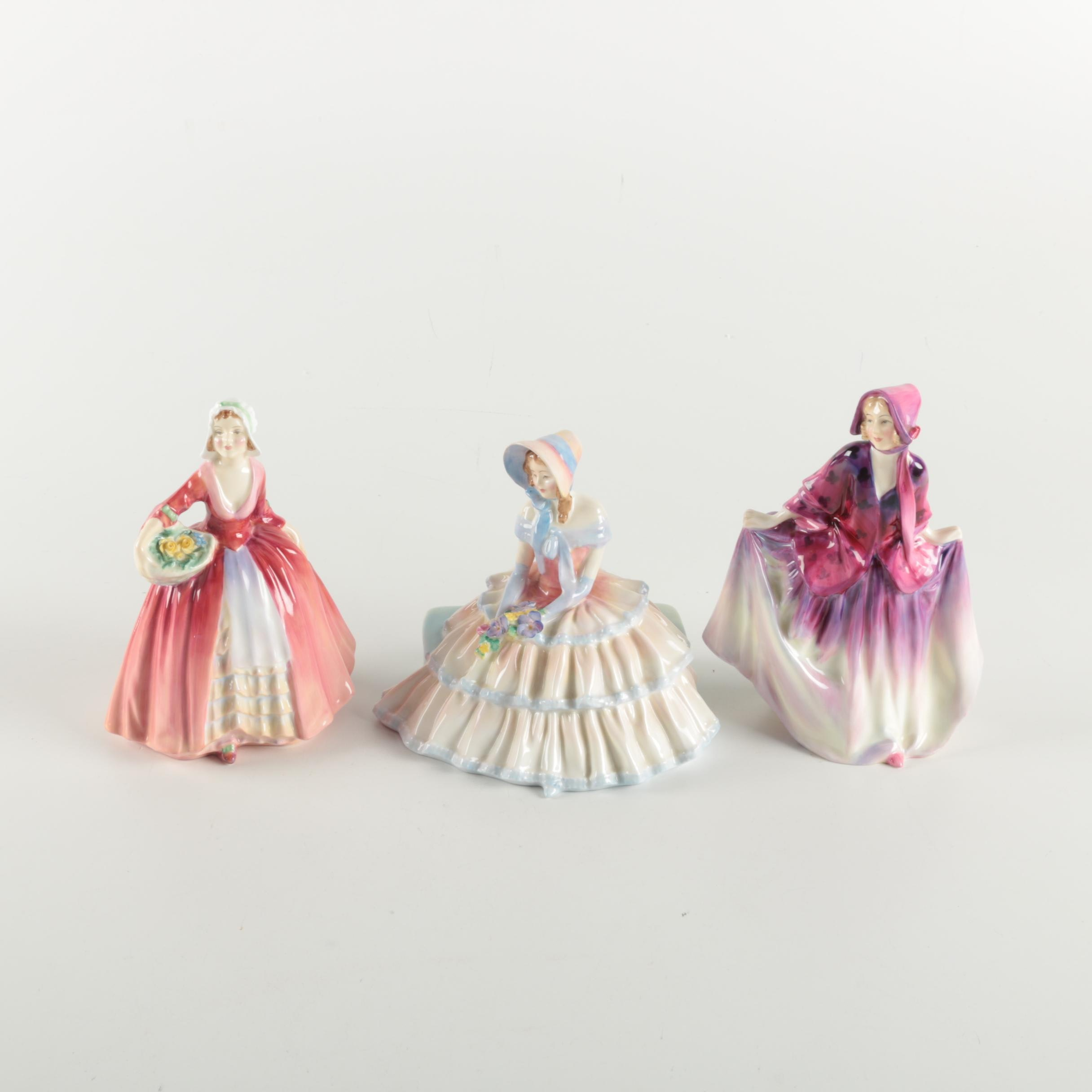 "Royal Doulton Figurines Including ""Janet"""