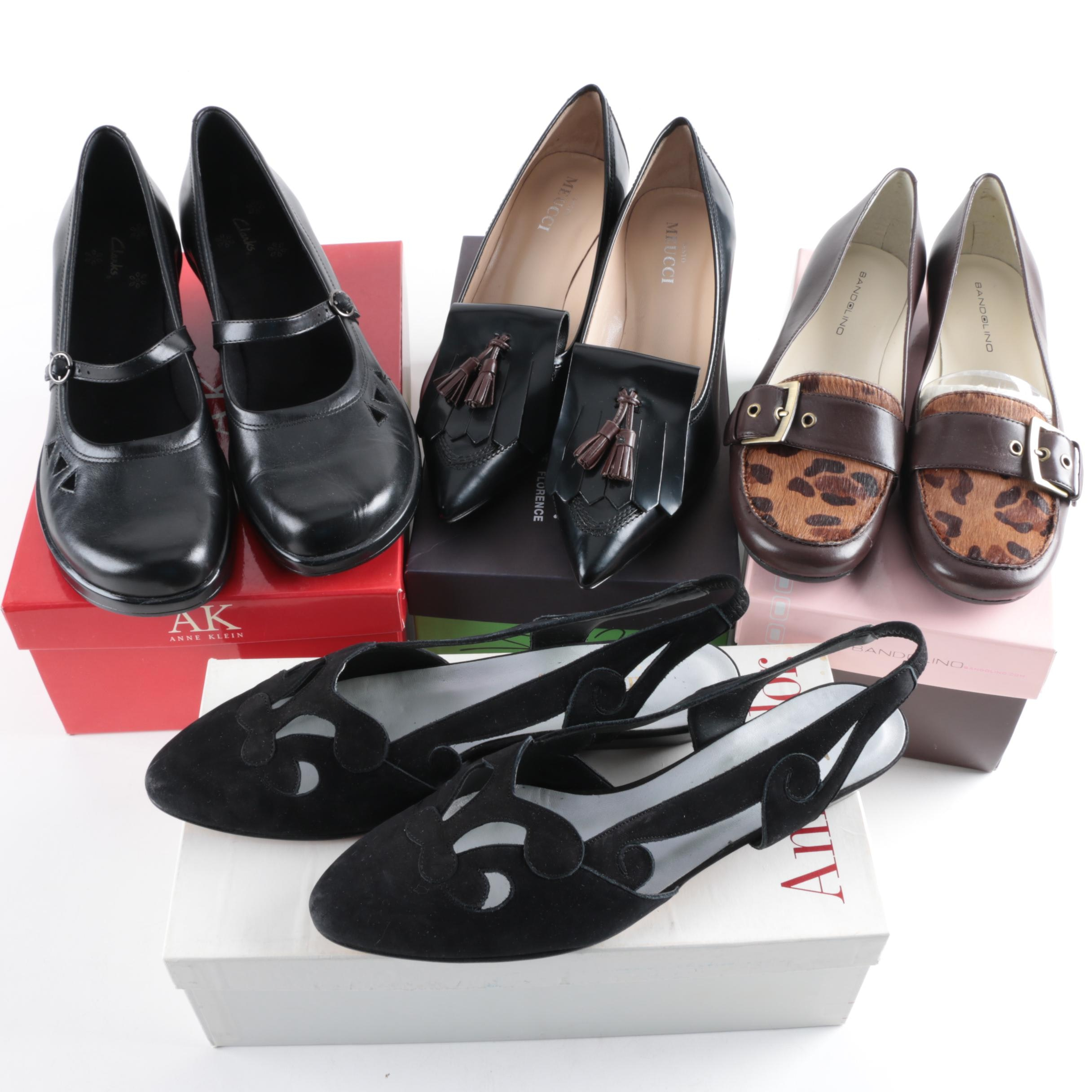 Four Pairs of Womens Shoes Including Sesto Meucci