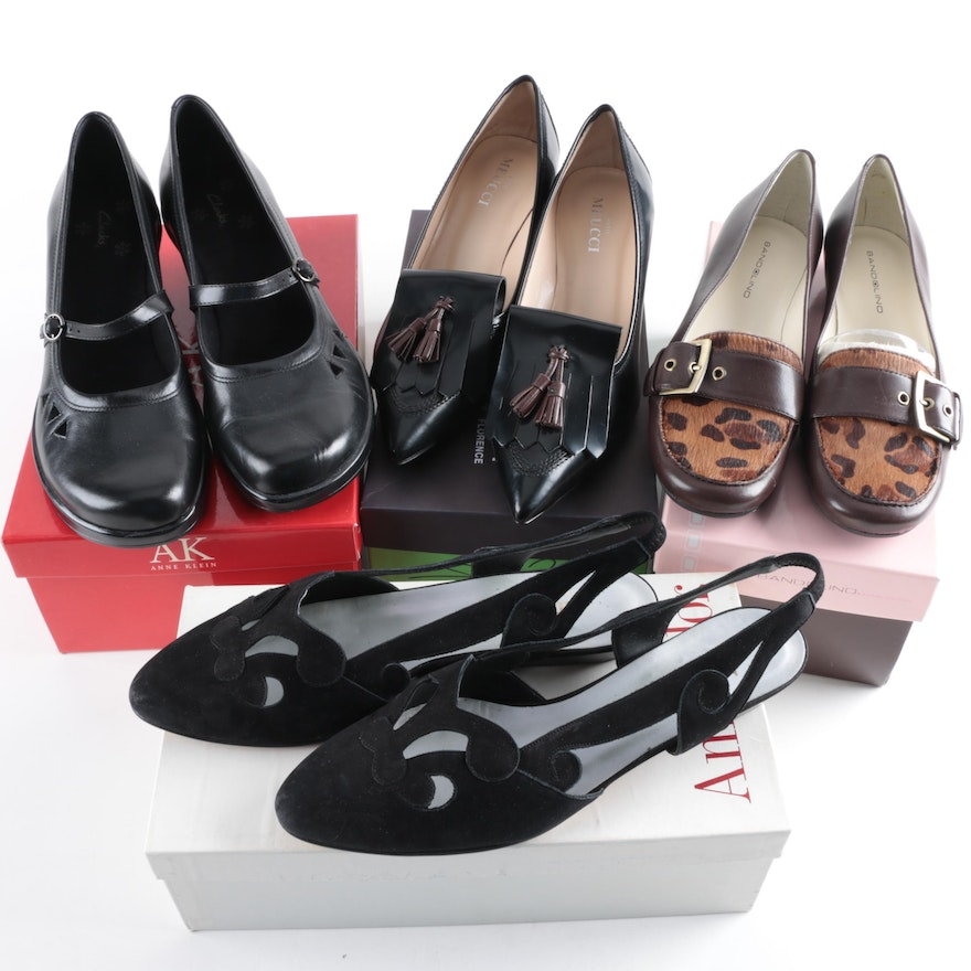 a61f35f40daa Four Pairs of Womens Shoes Including Sesto Meucci   EBTH
