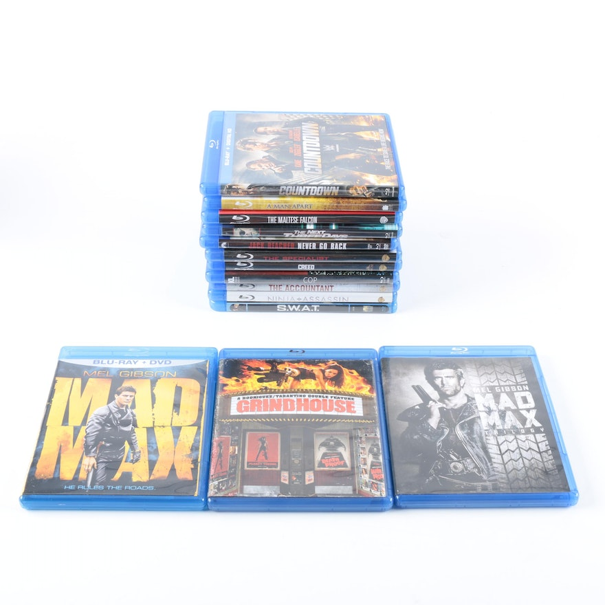 A Man Apart Blu Ray Upc: Assorted Action Blu-Ray Discs