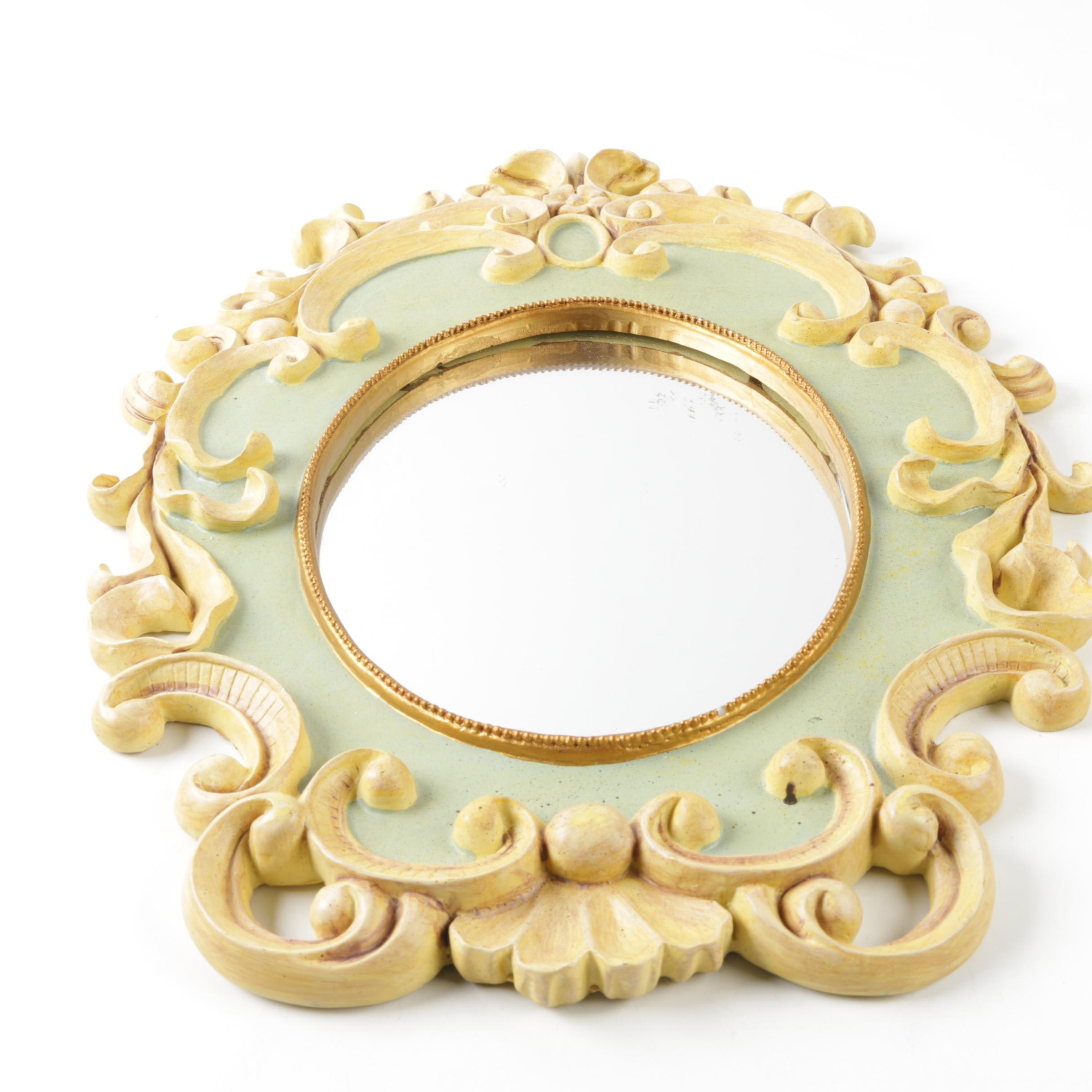 Hand Painted Decorative Wall Mirror