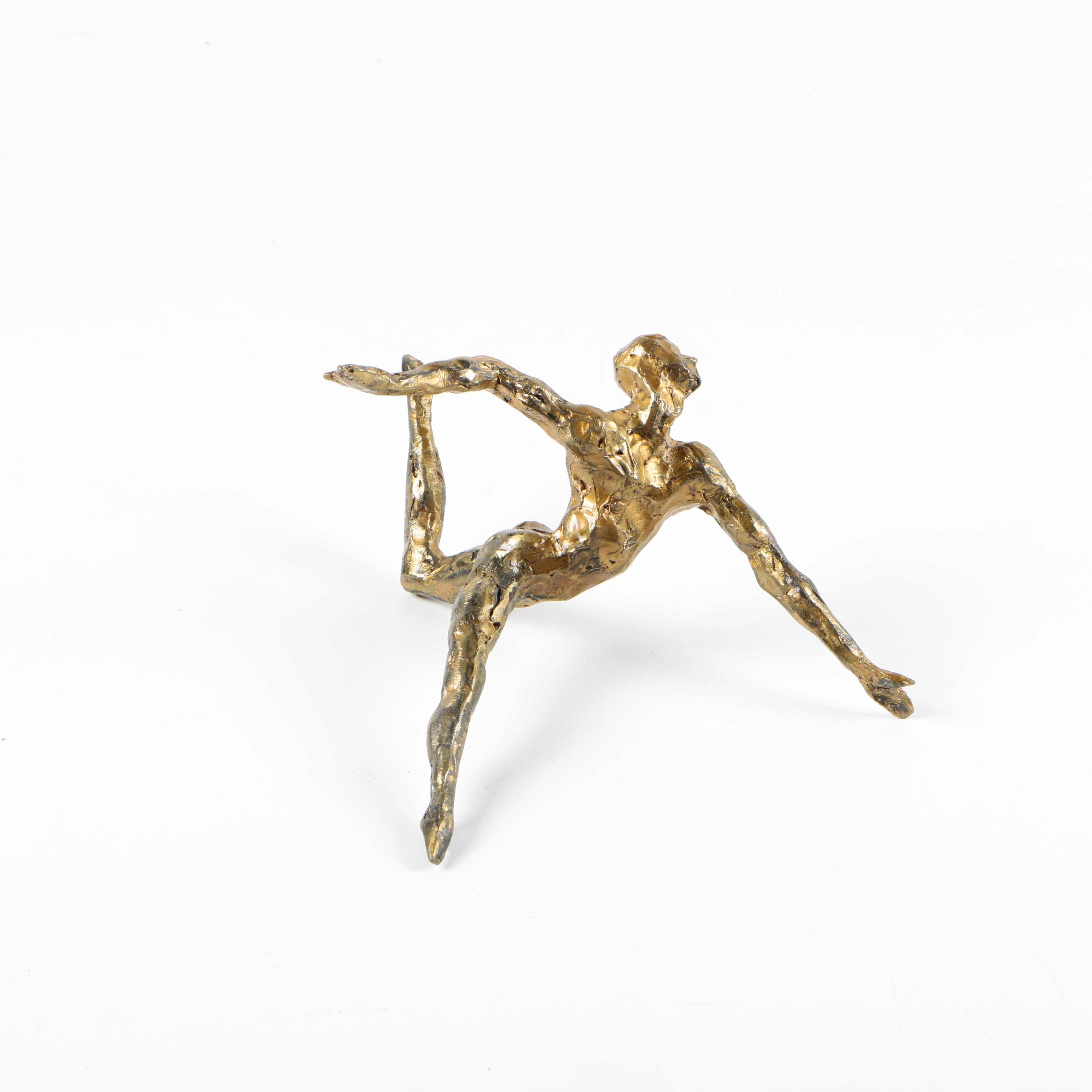 Figural Copper Sculpture by James Maher