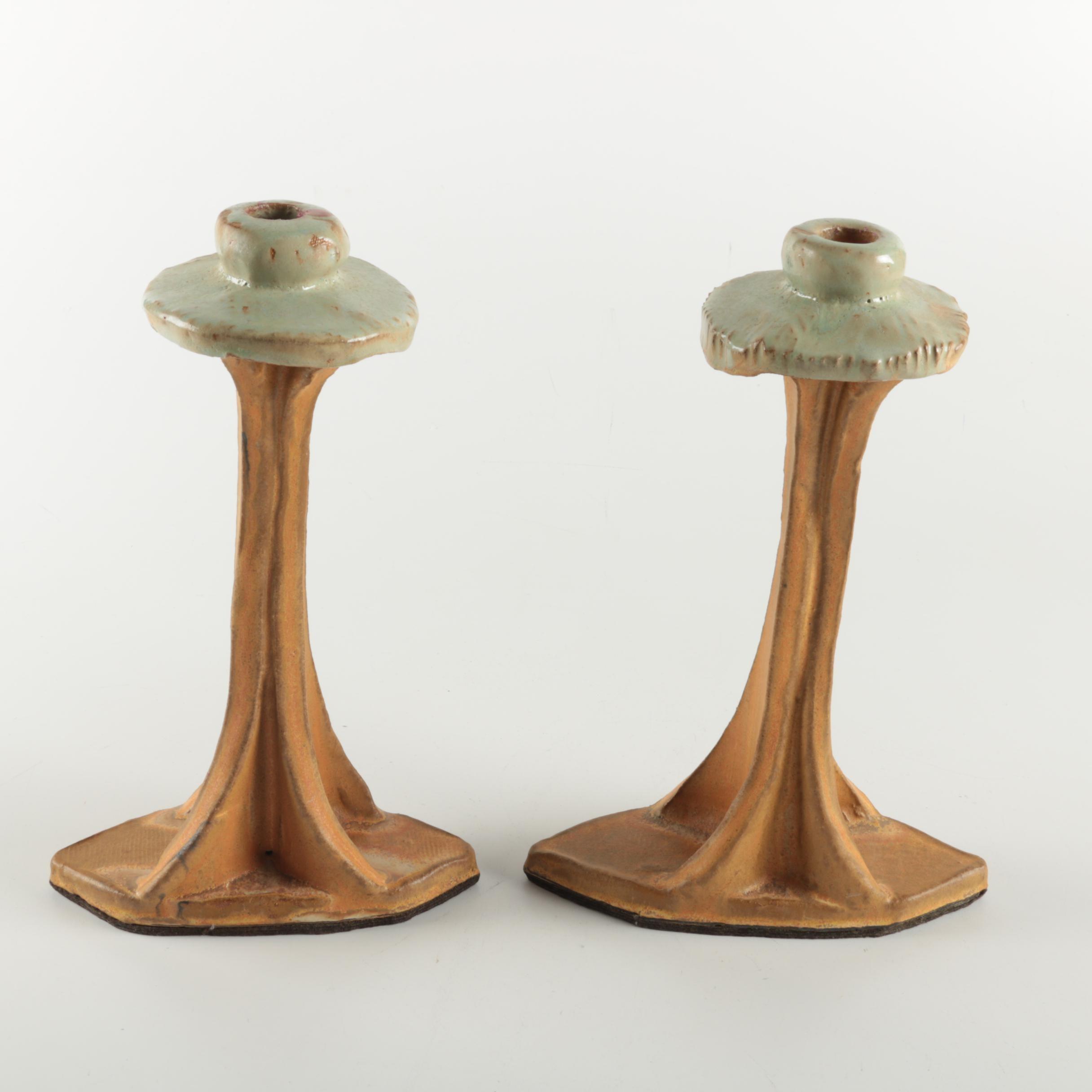 Handmade Ceramic Candlesticks