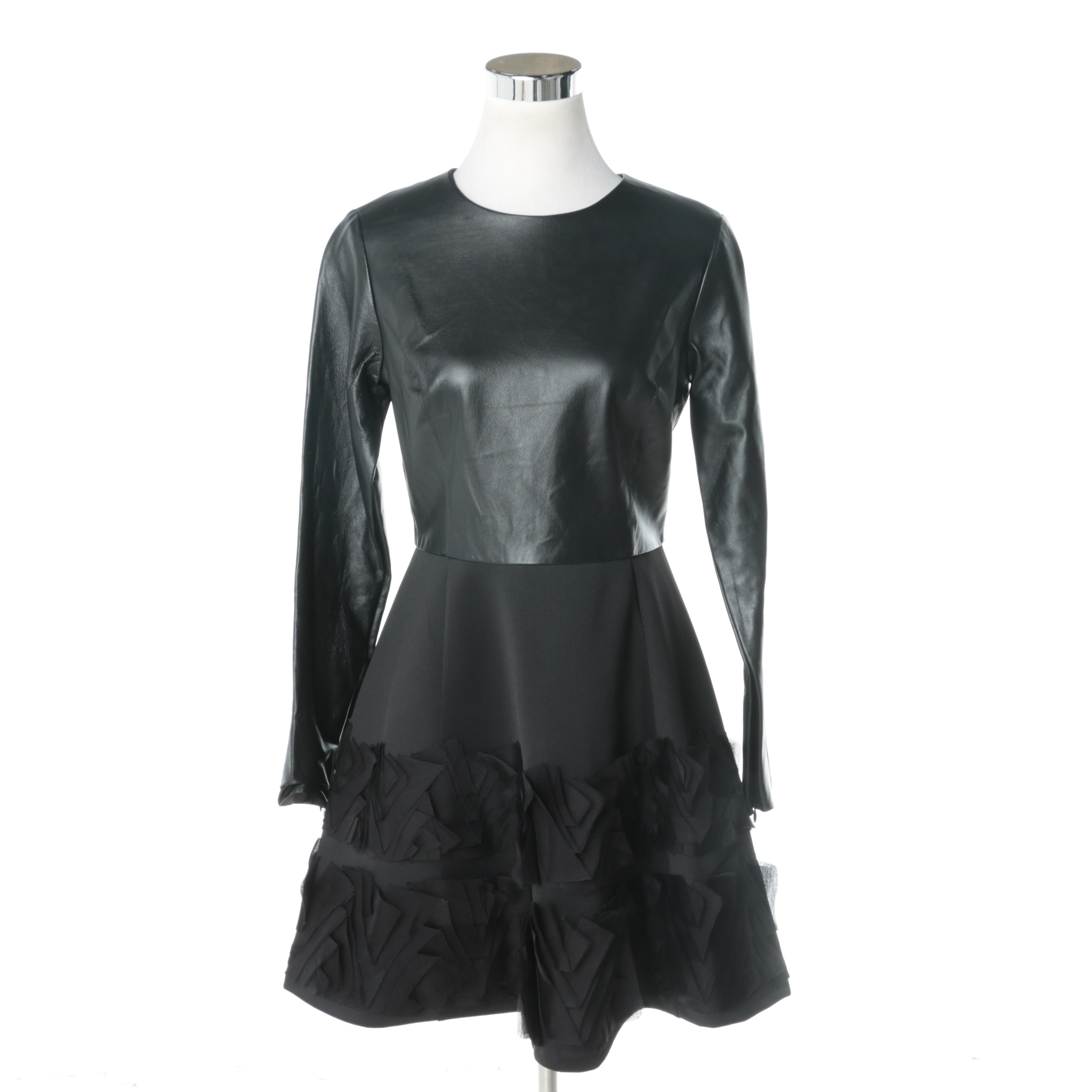 Sachin + Babi Lamb Leather Dress